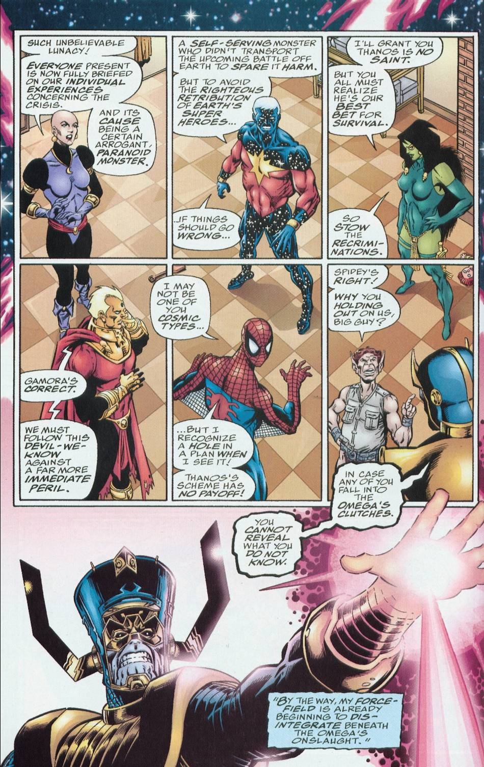 Read online Infinity Abyss comic -  Issue #6 - 14