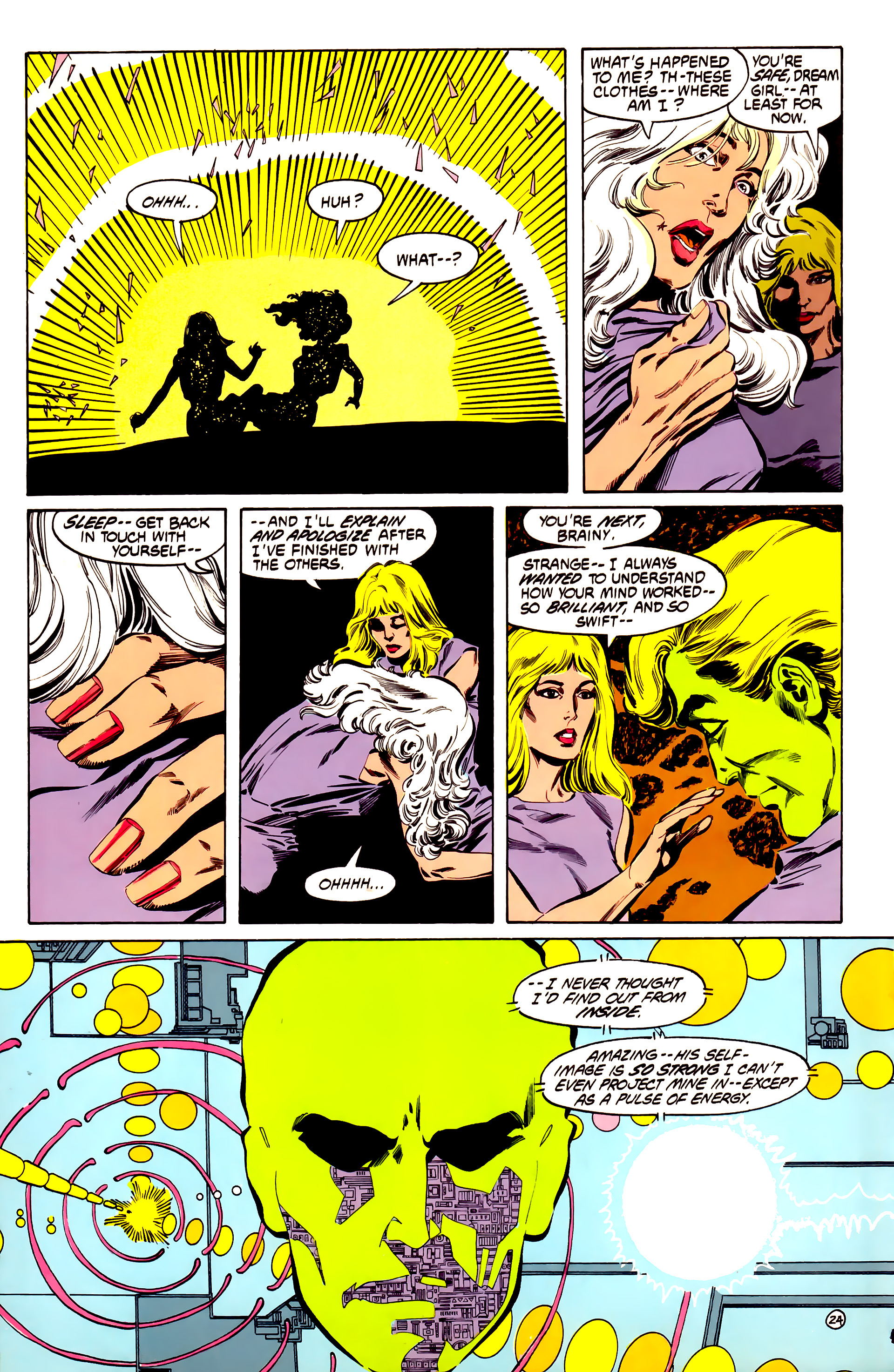 Legion of Super-Heroes (1984) 32 Page 23