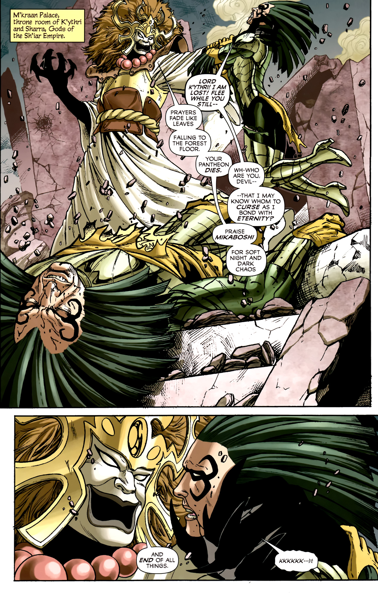 Read online Assault on New Olympus Prologue comic -  Issue #Assault on New Olympus Prologue Full - 7