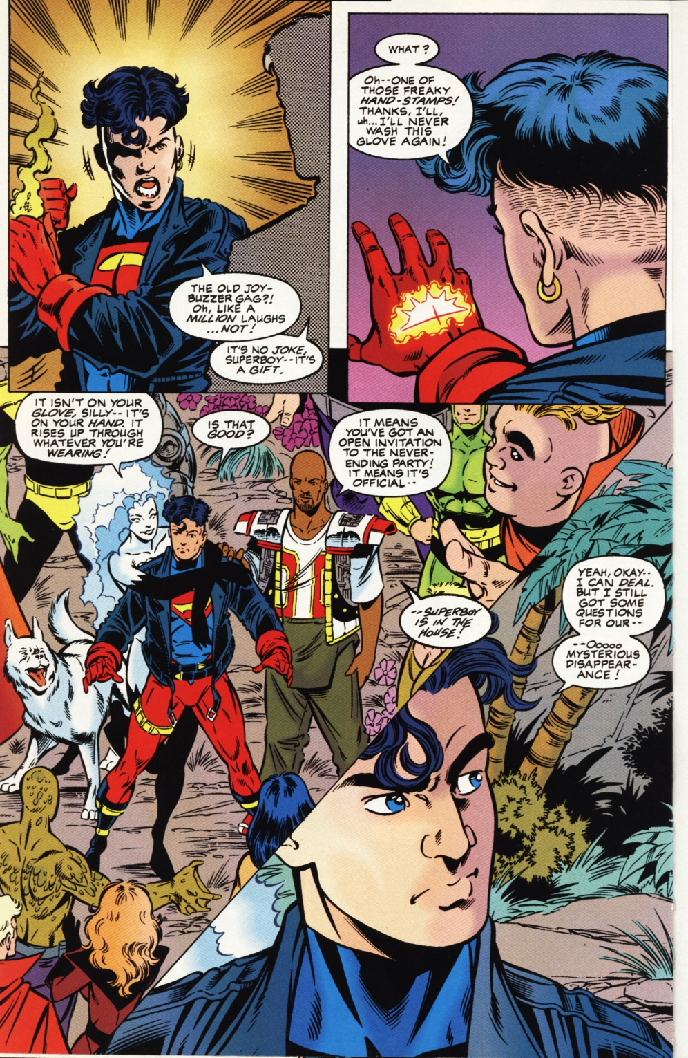 Read online Superboy & The Ravers comic -  Issue #1 - 15