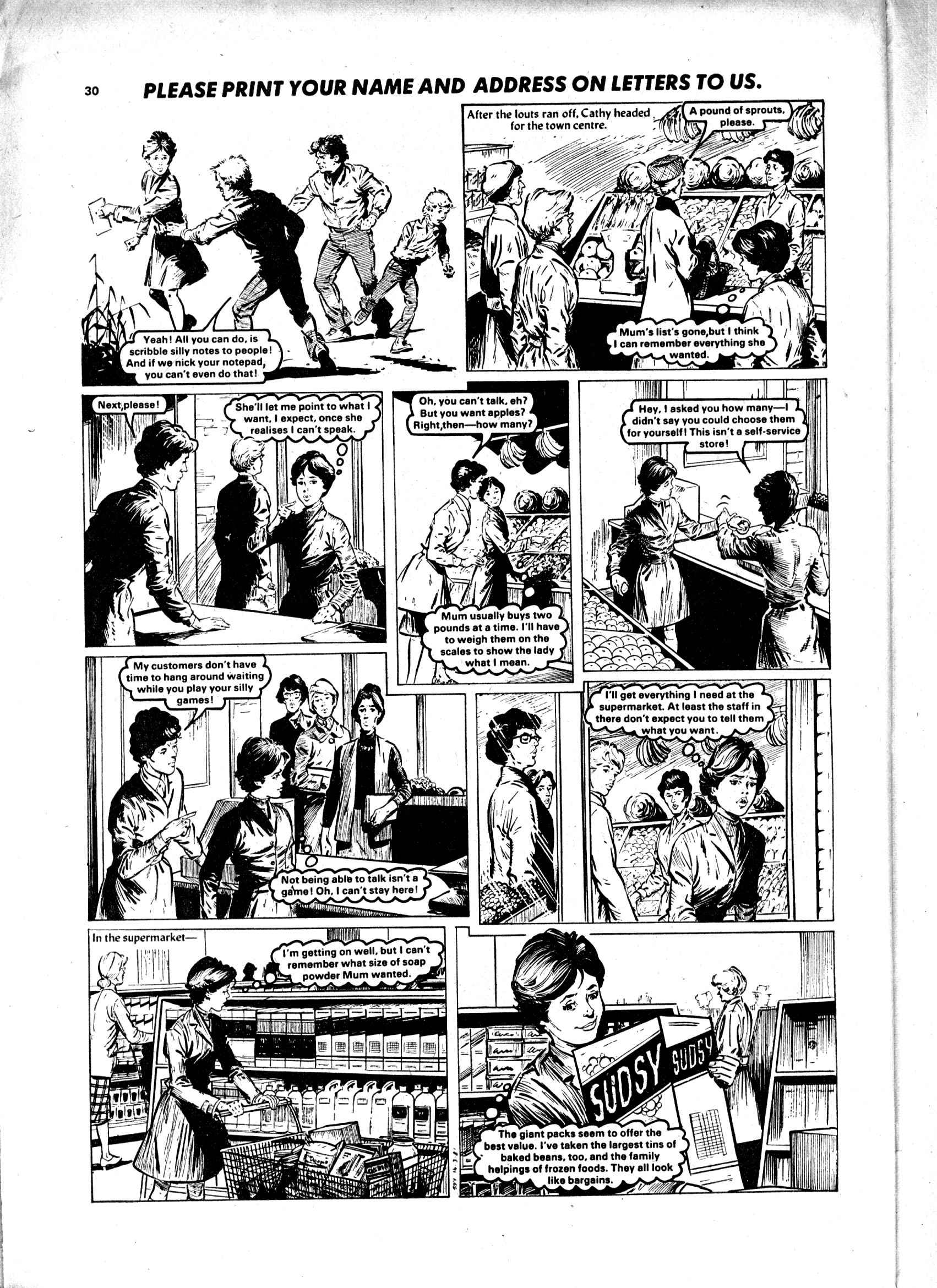 Read online Judy comic -  Issue #1105 - 30