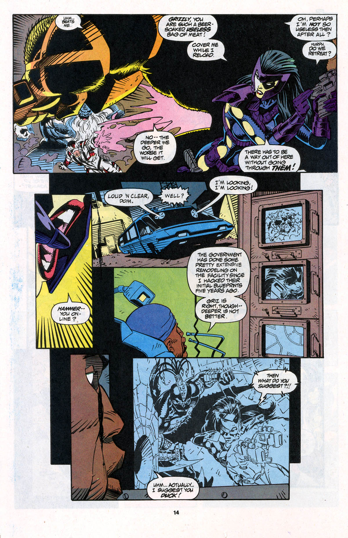 Read online X-Force (1991) comic -  Issue #23 - 14