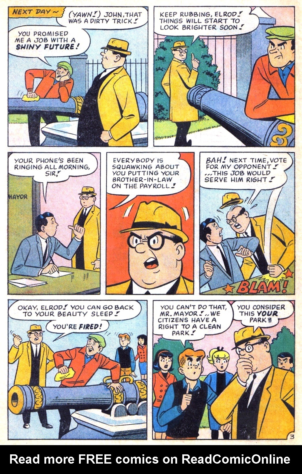 Read online Archie (1960) comic -  Issue #171 - 30