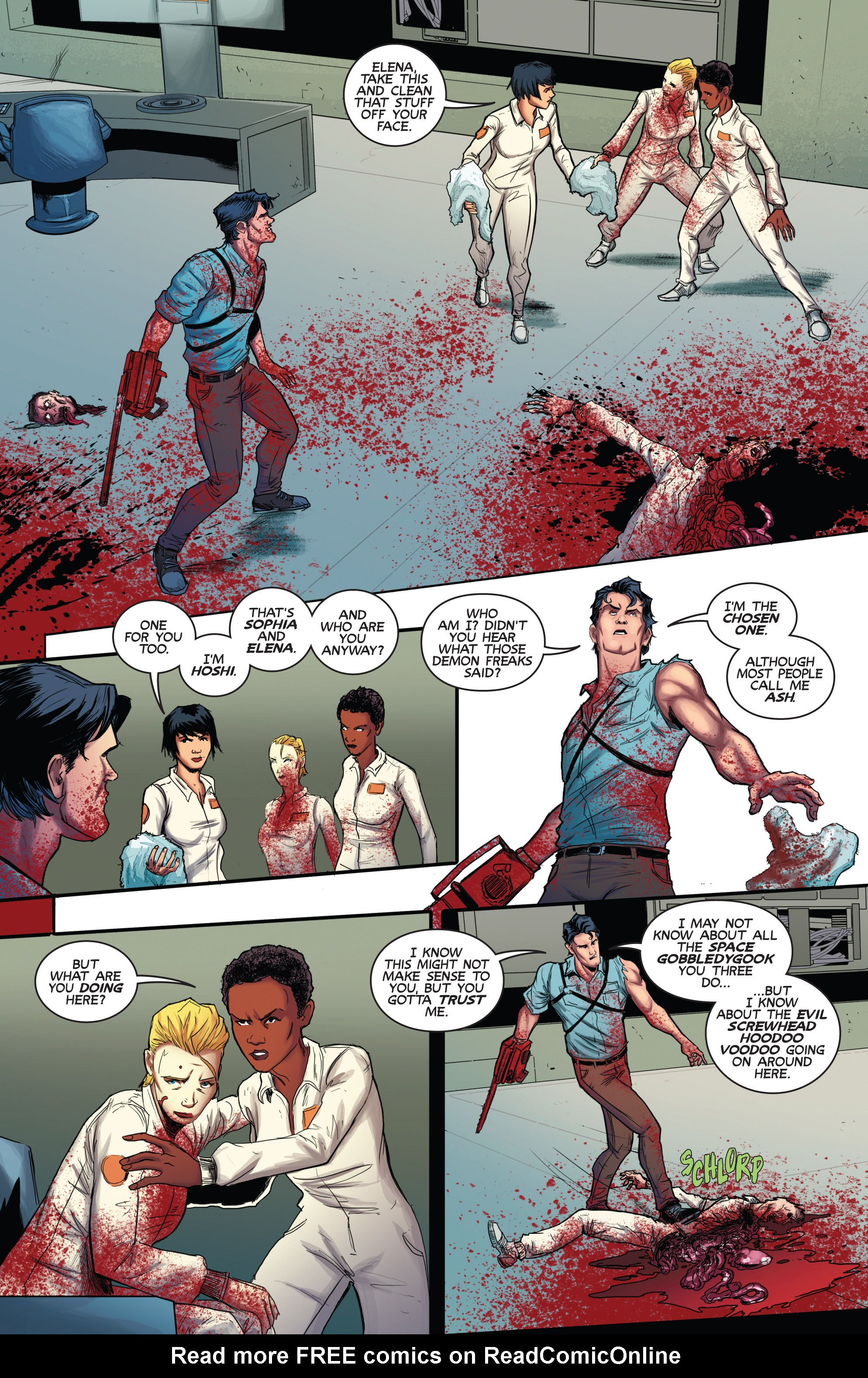 Read online Army of Darkness (2014) comic -  Issue #3 - 5