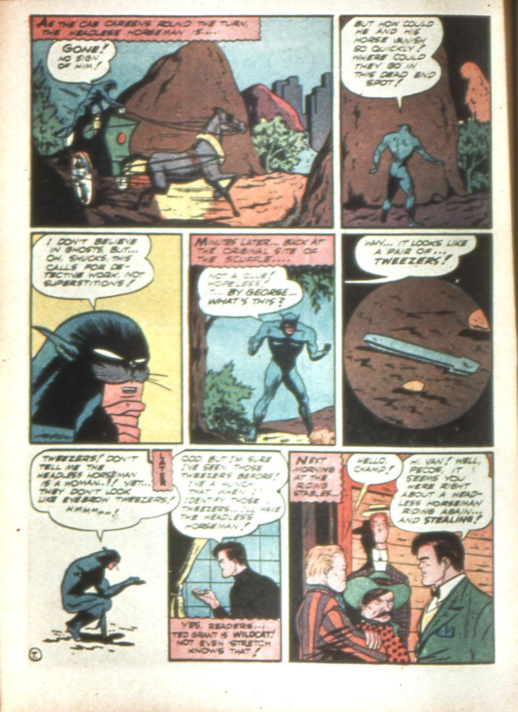 Read online Sensation (Mystery) Comics comic -  Issue #16 - 62