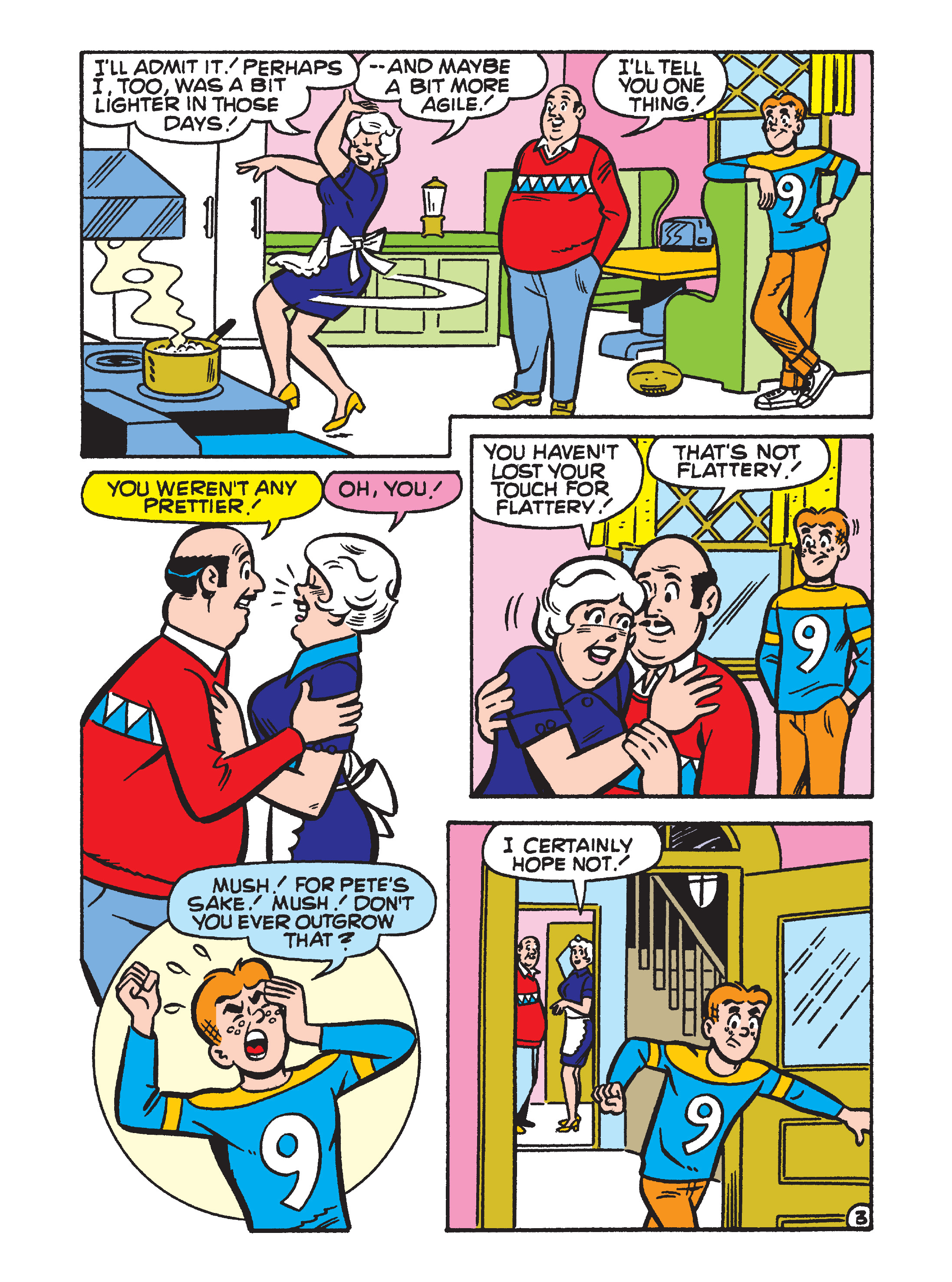Read online Archie 75th Anniversary Digest comic -  Issue #5 - 135
