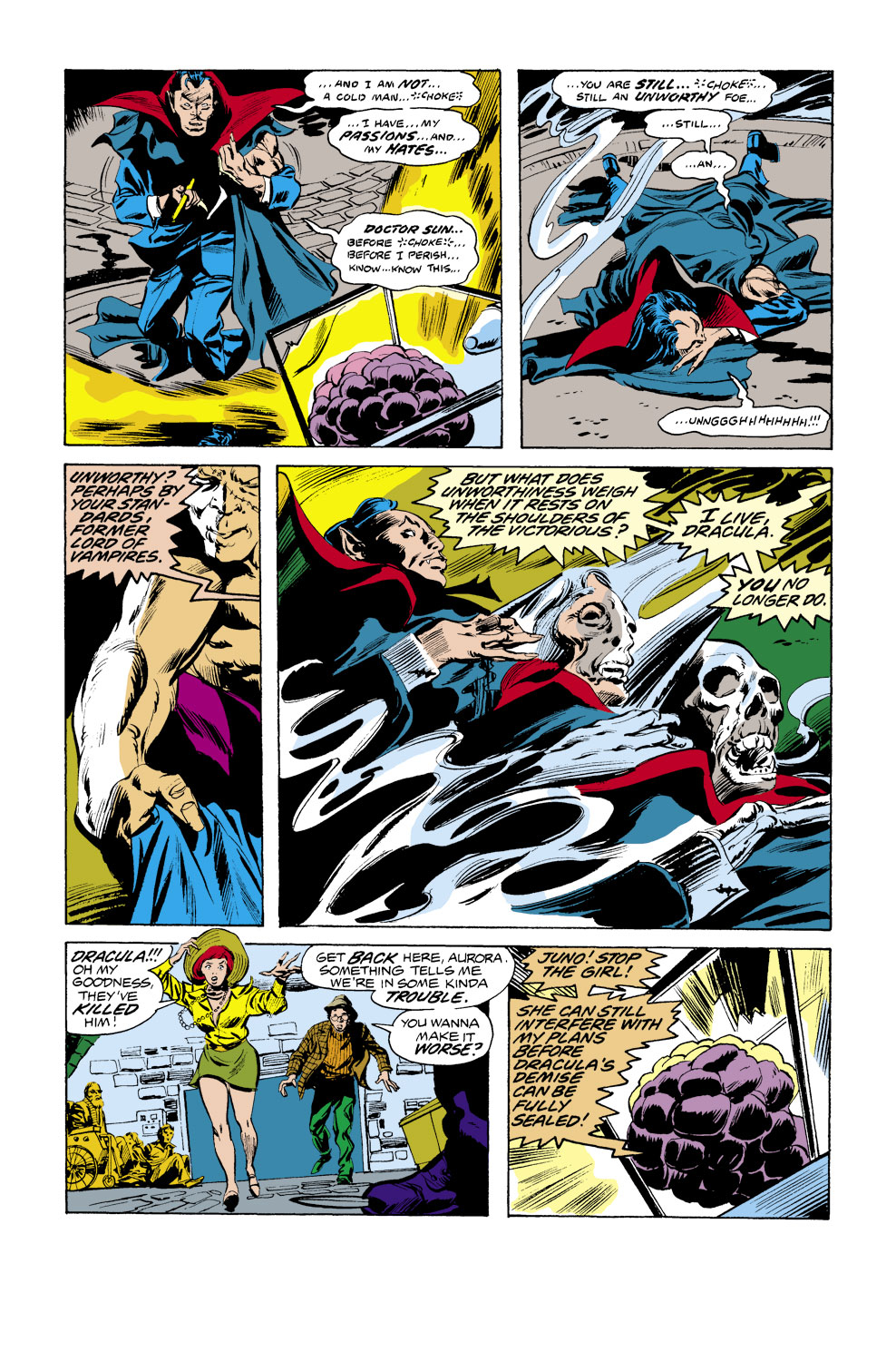 Tomb of Dracula (1972) issue 39 - Page 12