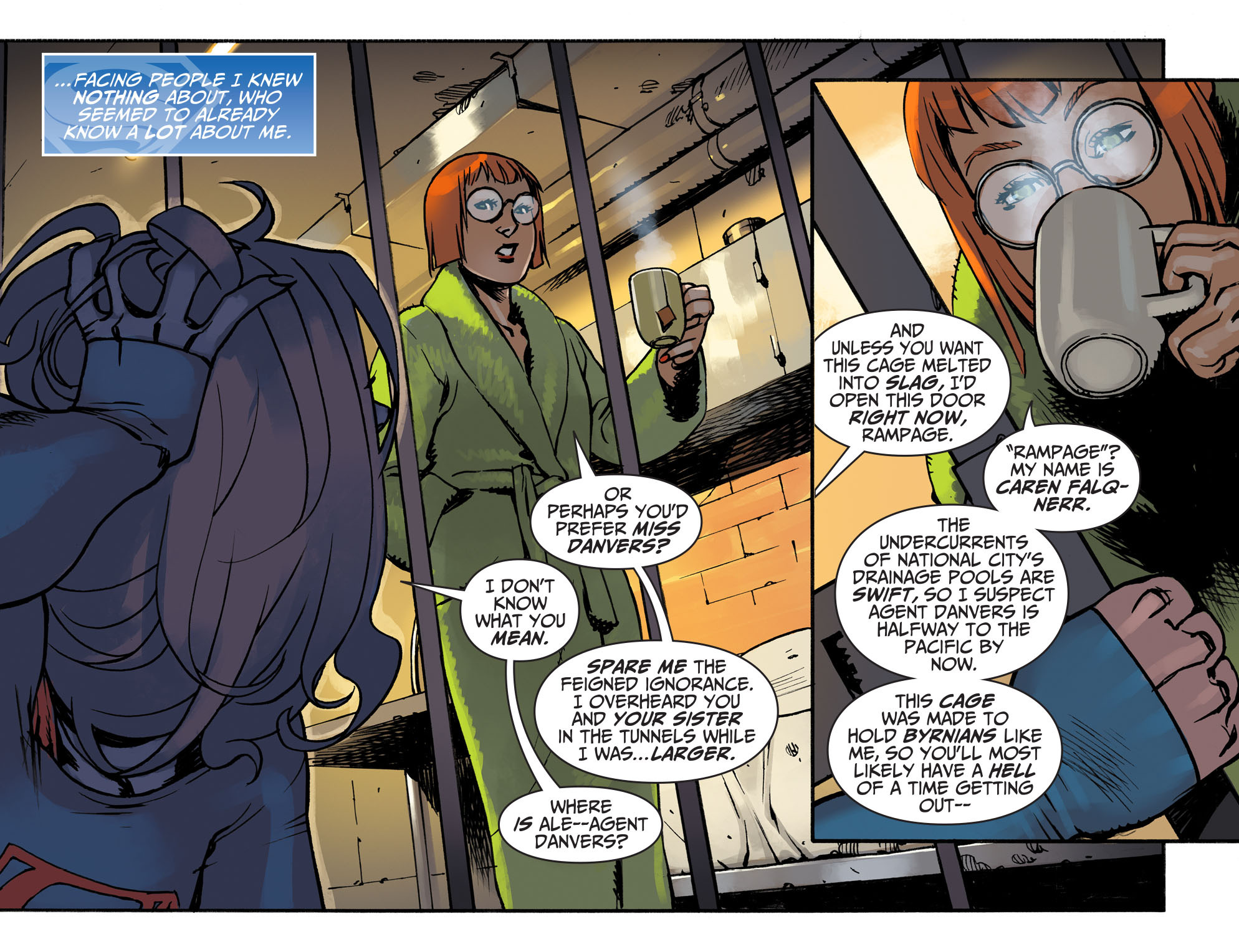Read online Adventures of Supergirl comic -  Issue #3 - 5