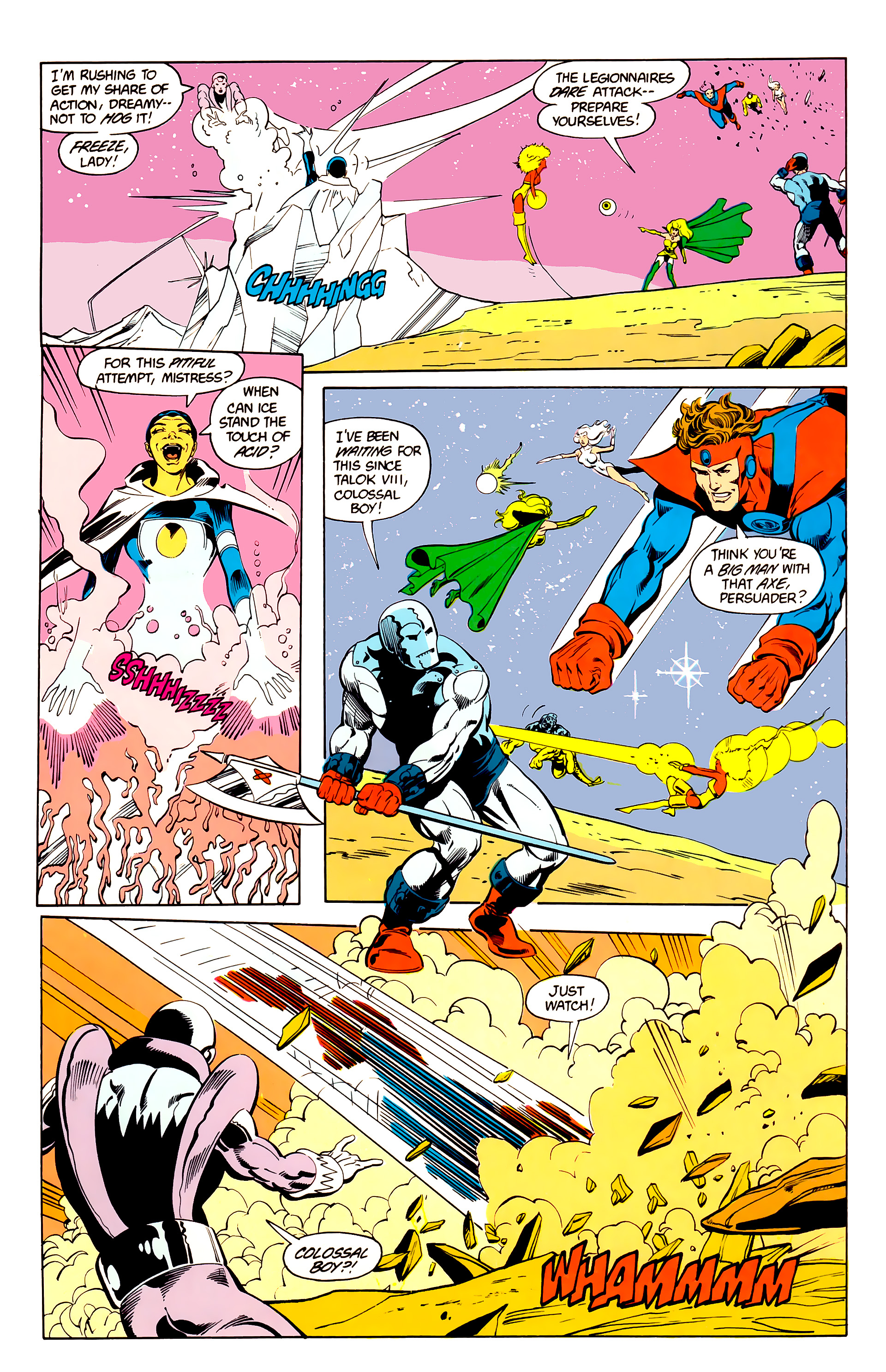 Legion of Super-Heroes (1984) 25 Page 21