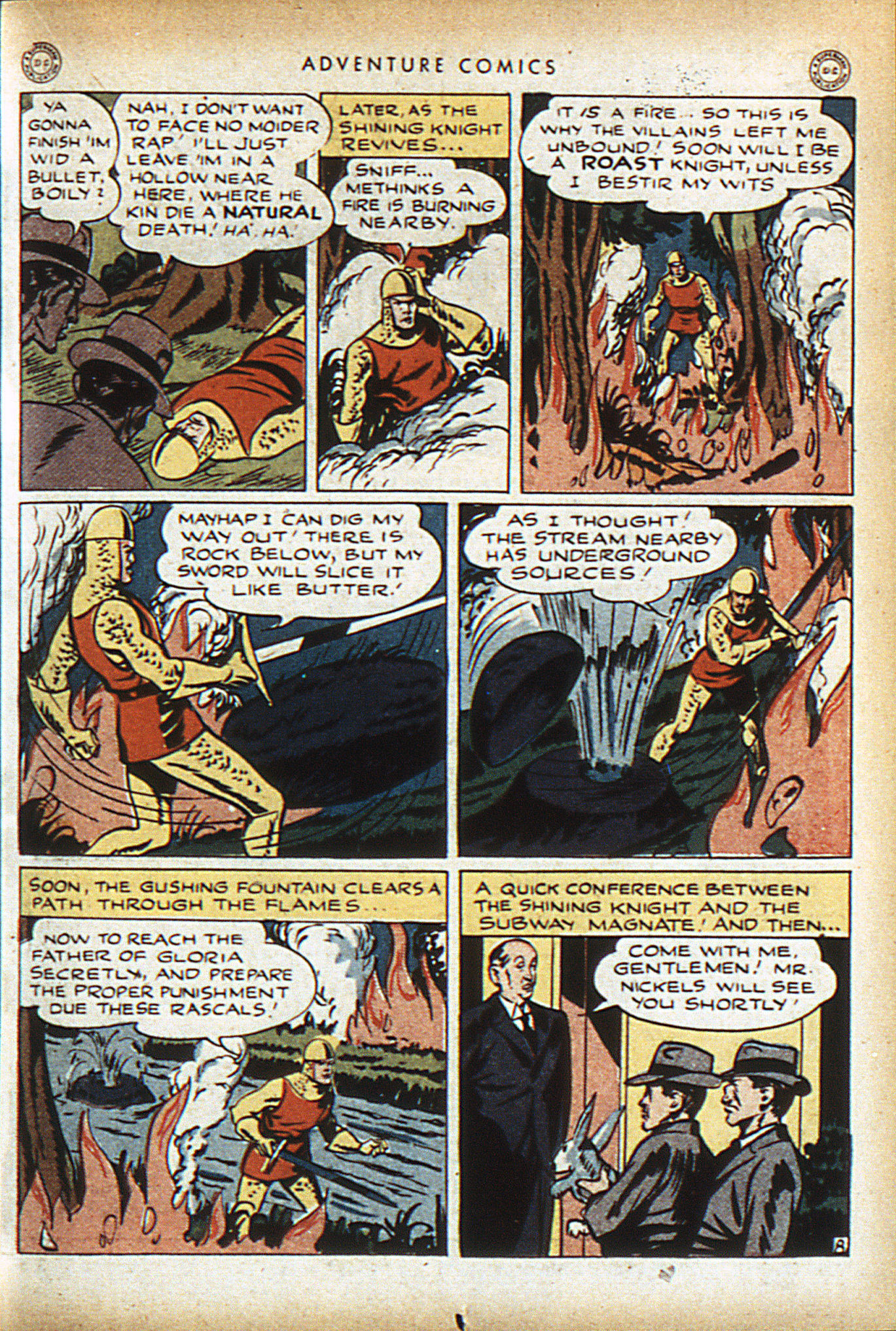 Read online Adventure Comics (1938) comic -  Issue #96 - 22