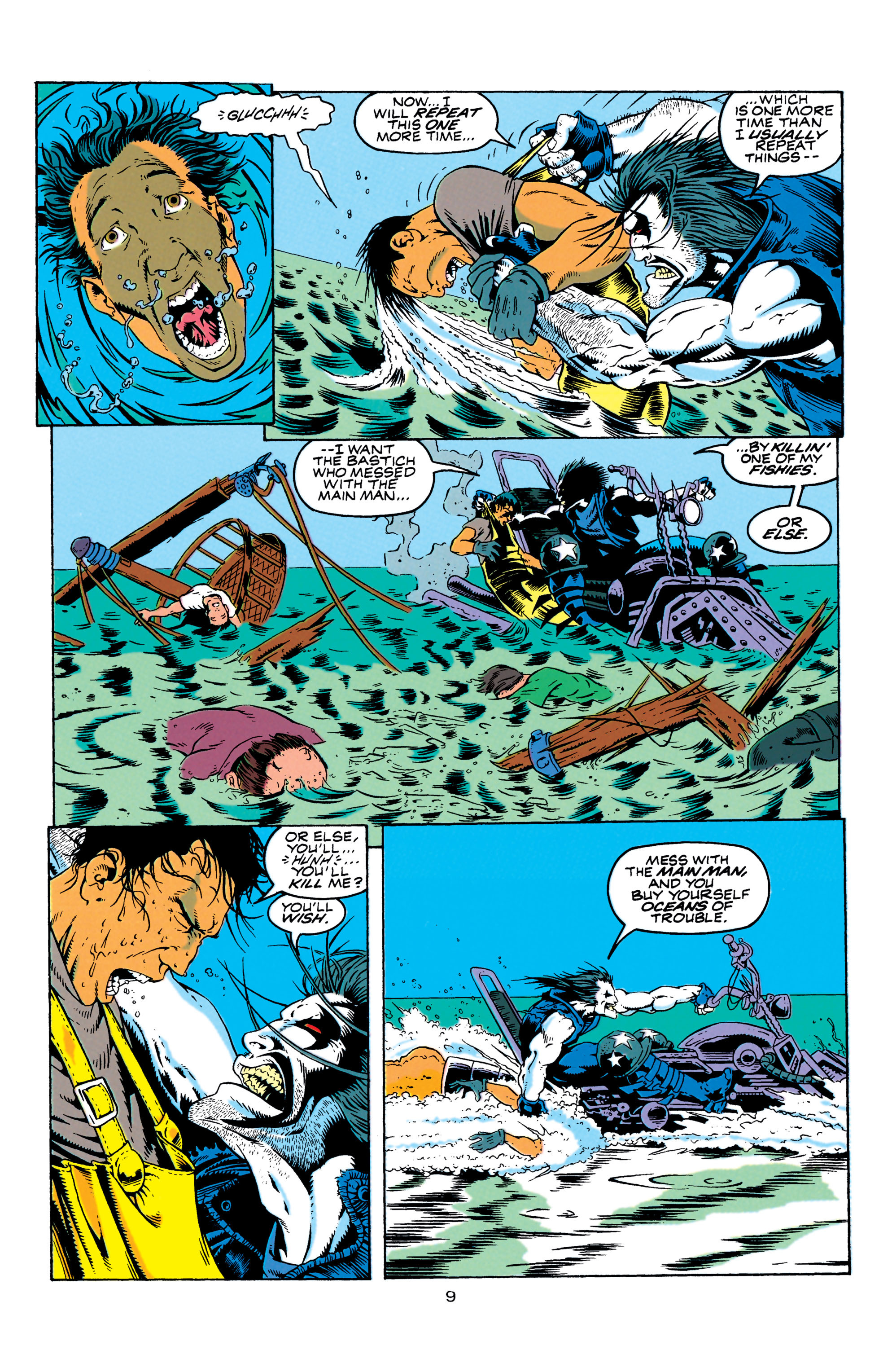 Read online Aquaman (1994) comic -  Issue #4 - 10