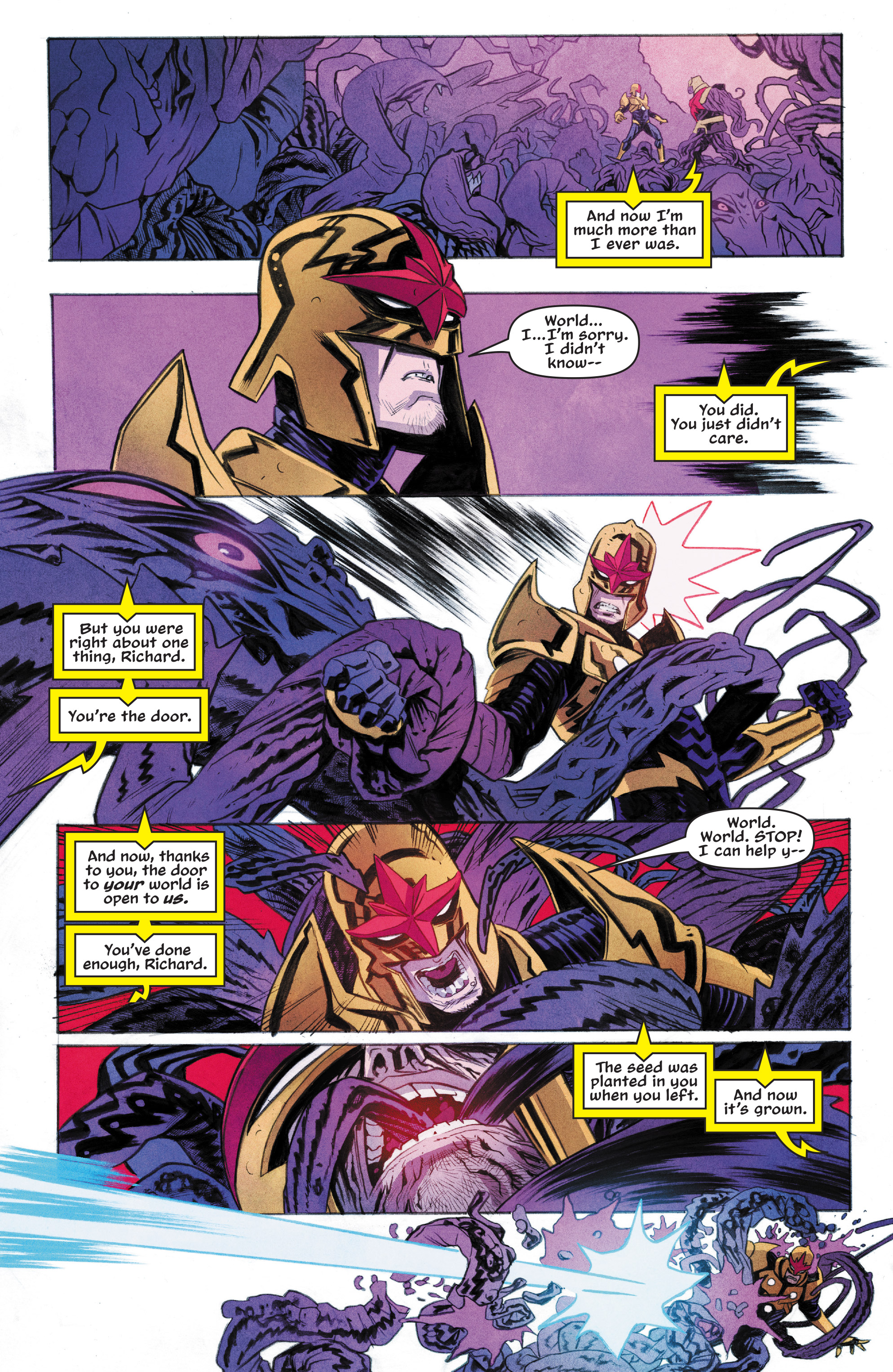 Read online Nova (2017) comic -  Issue #6 - 19