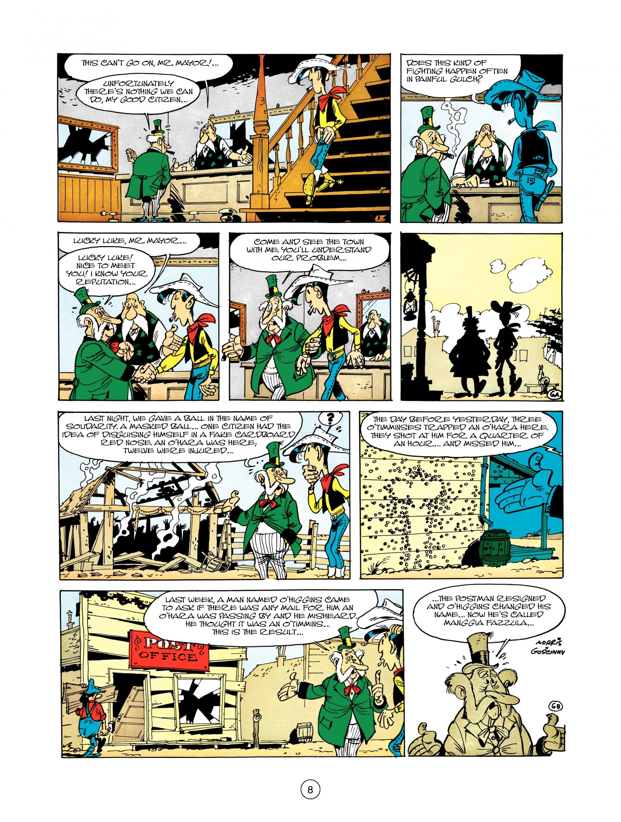 Read online A Lucky Luke Adventure comic -  Issue #12 - 8