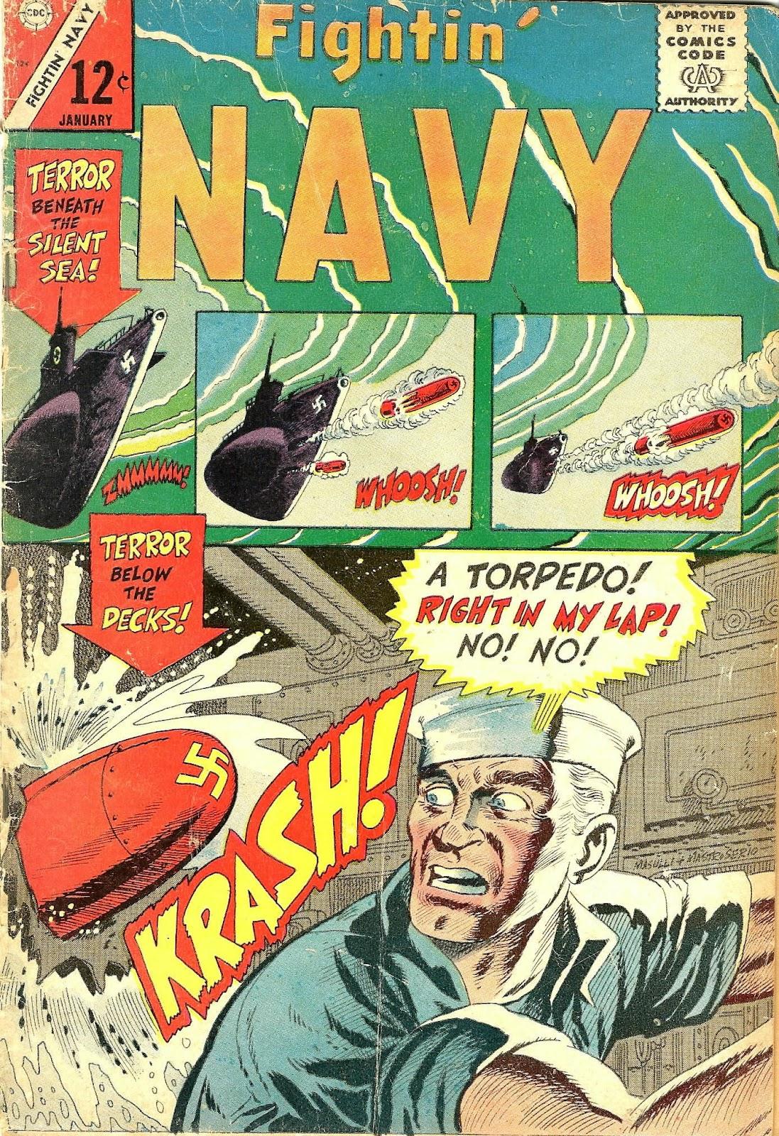 Read online Fightin' Navy comic -  Issue #124 - 1