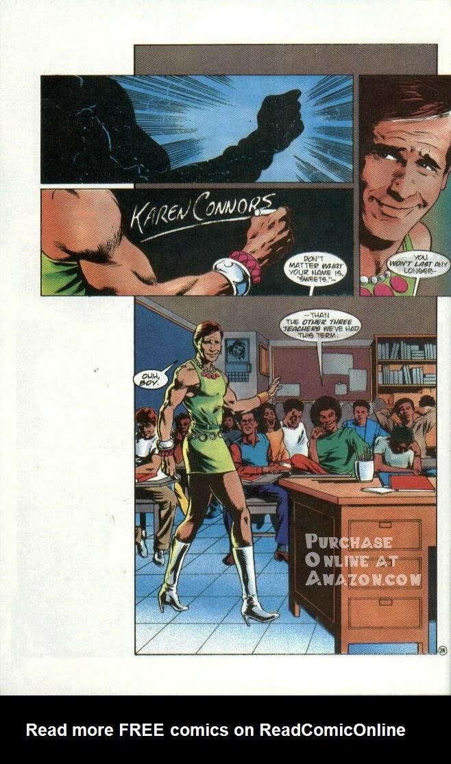 Read online Quantum Leap comic -  Issue #6 - 25