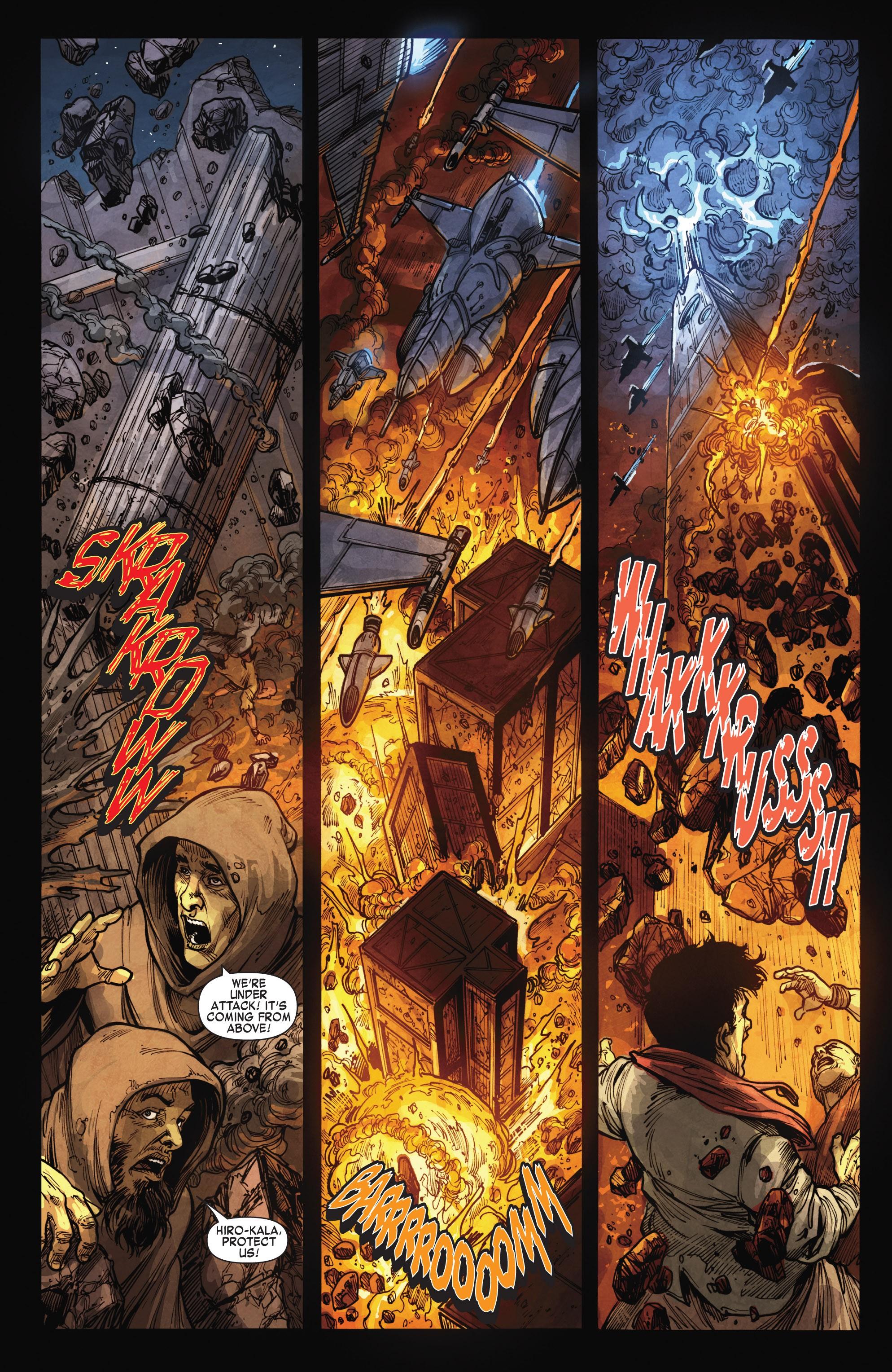Read online Skaar: Son of Hulk comic -  Issue #15 - 21