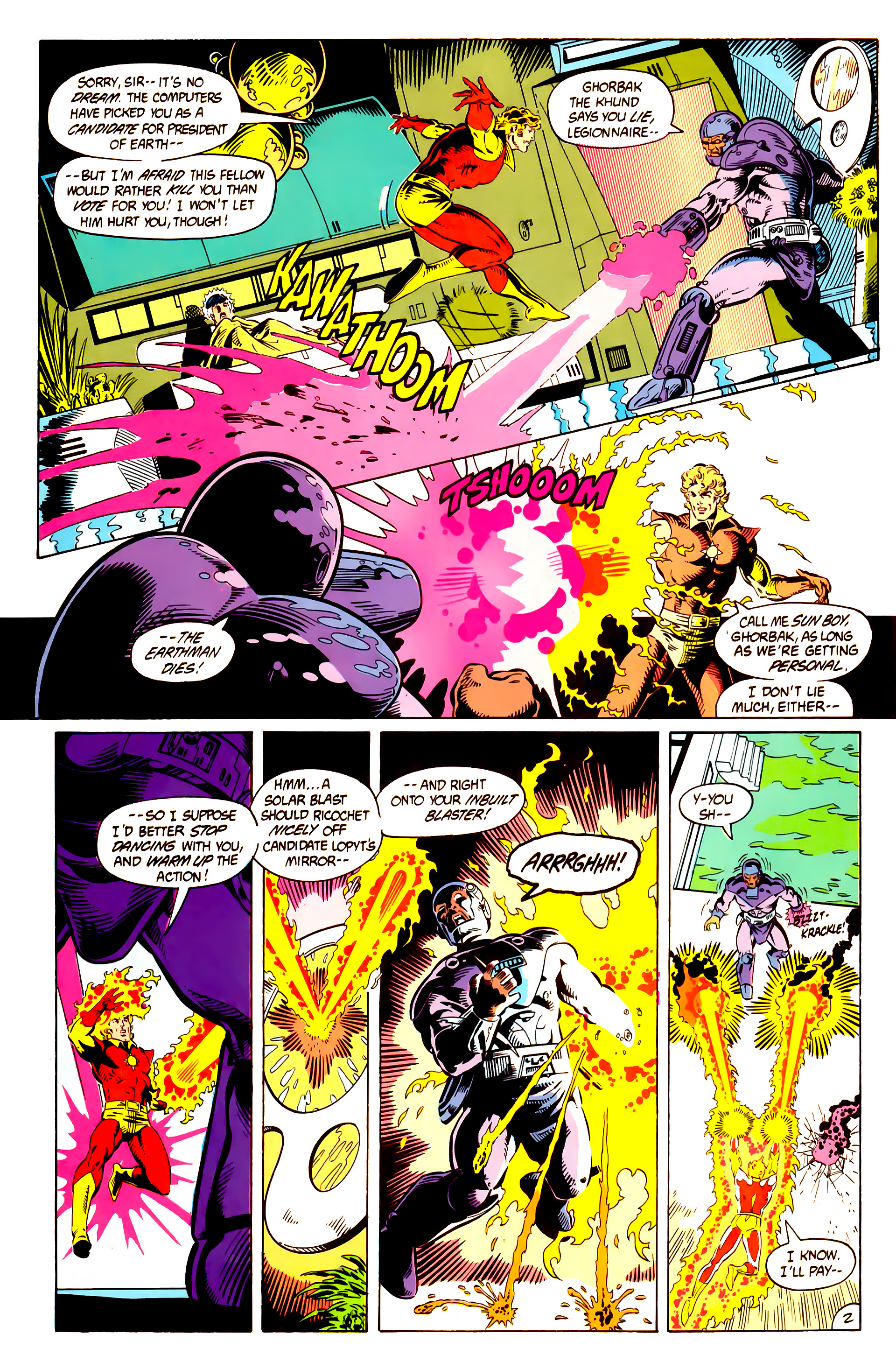 Legion of Super-Heroes (1984) 10 Page 3
