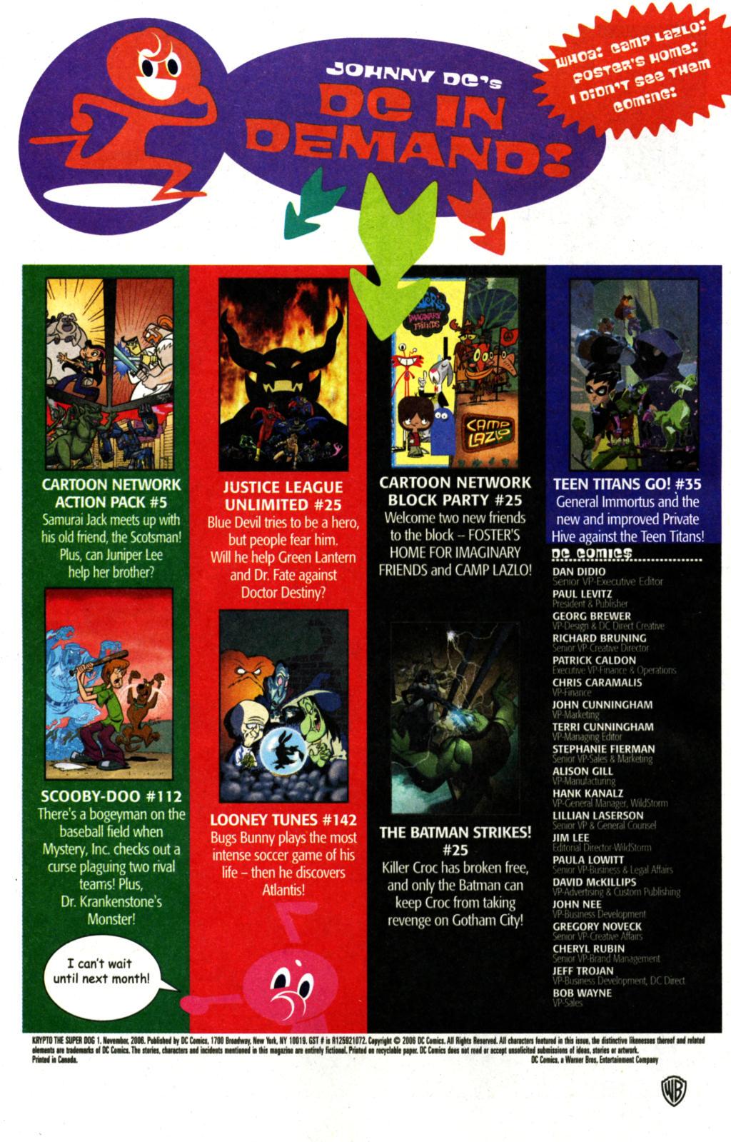 Read online Krypto the Superdog comic -  Issue #1 - 22