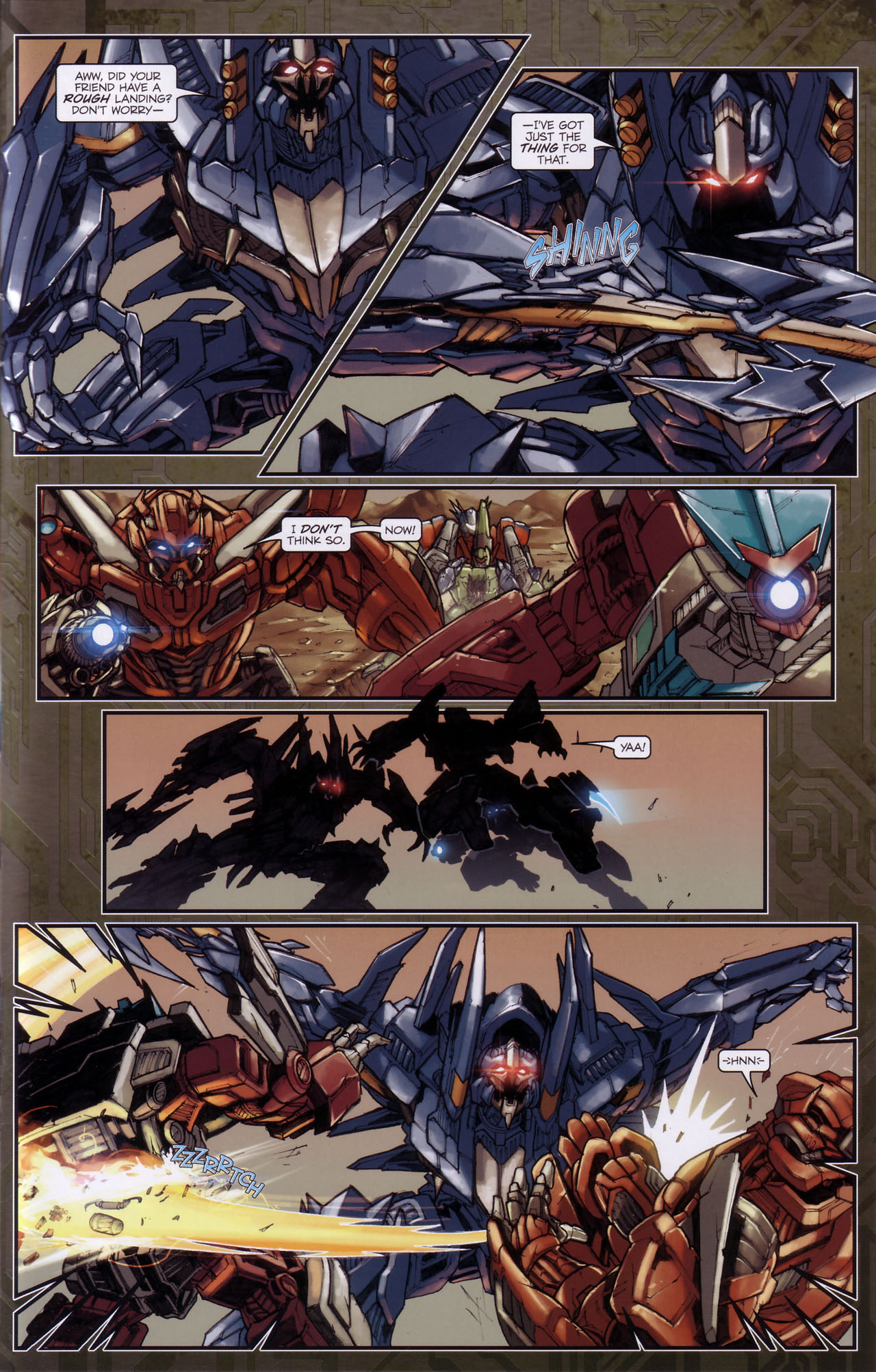 Read online Transformers: The Reign of Starscream comic -  Issue #3 - 10