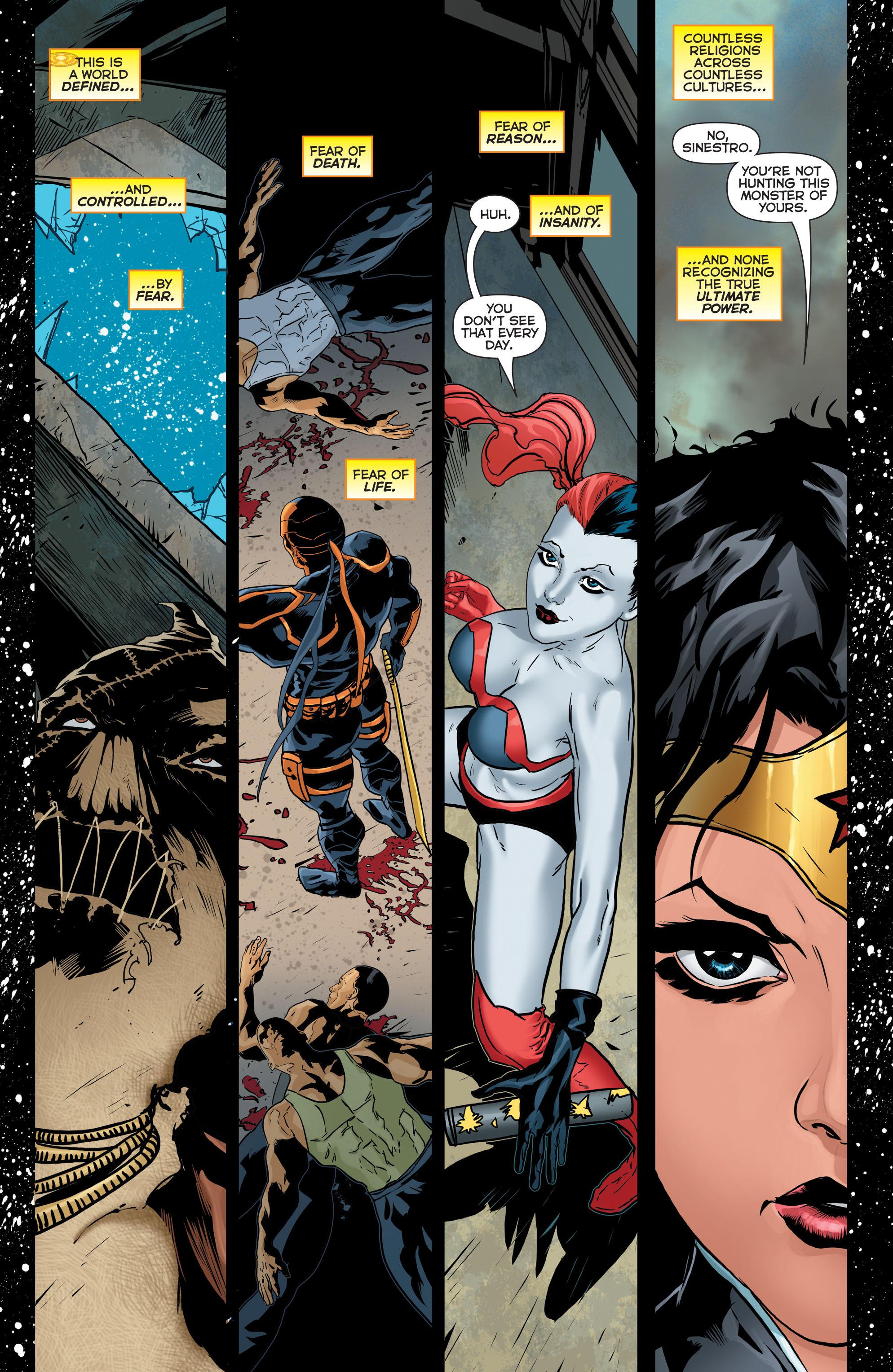 Read online Sinestro comic -  Issue #17 - 21