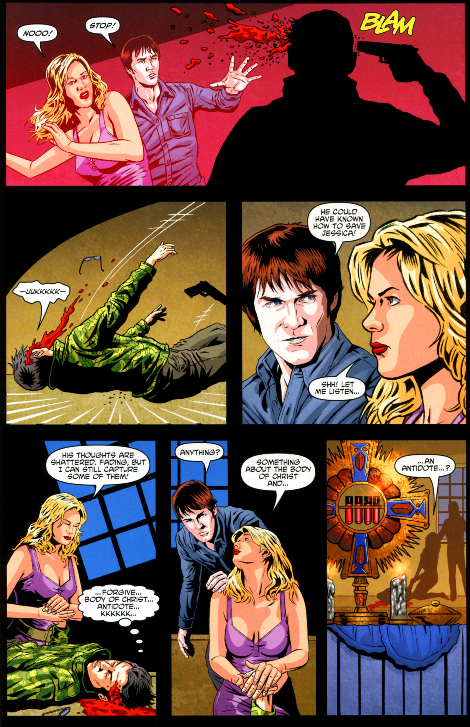 Read online True Blood: Tainted Love comic -  Issue #6 - 14