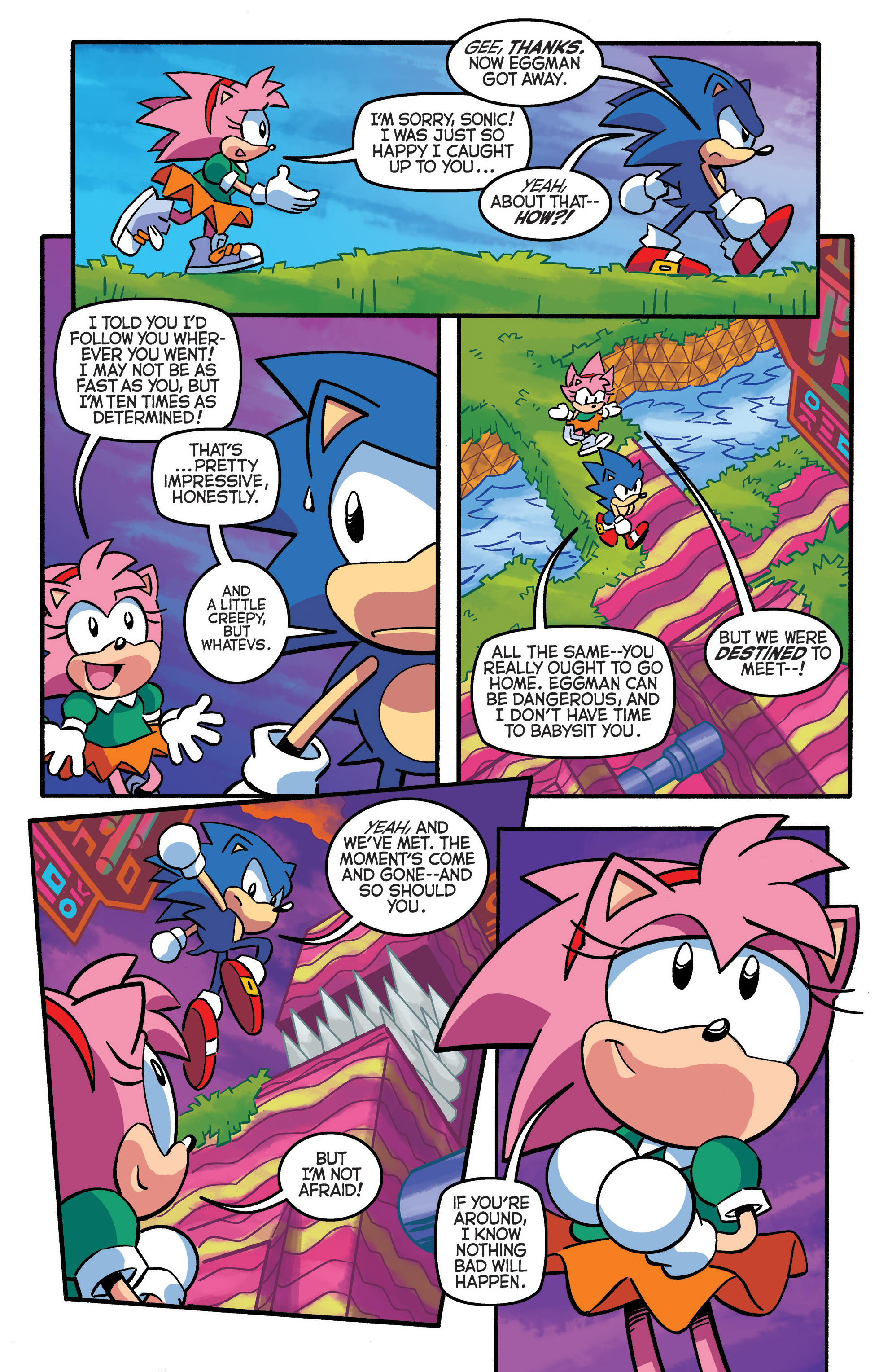 Read online Sonic The Hedgehog comic -  Issue #290 - 12