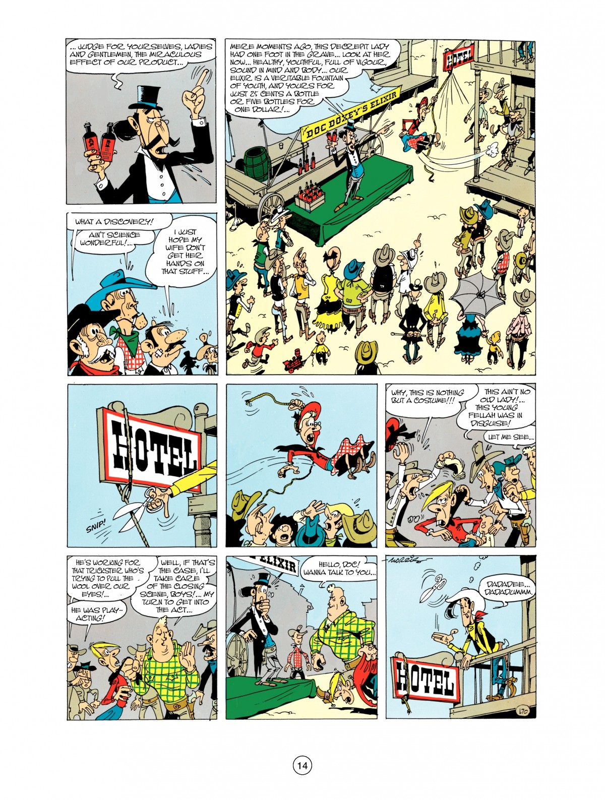 Read online A Lucky Luke Adventure comic -  Issue #38 - 14