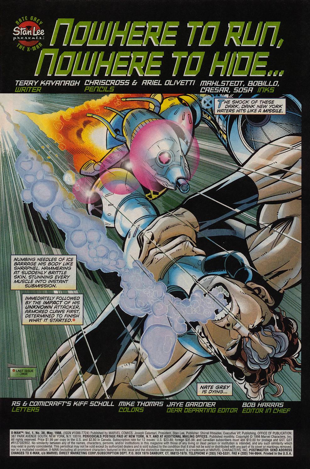 X-Man 38 Page 2