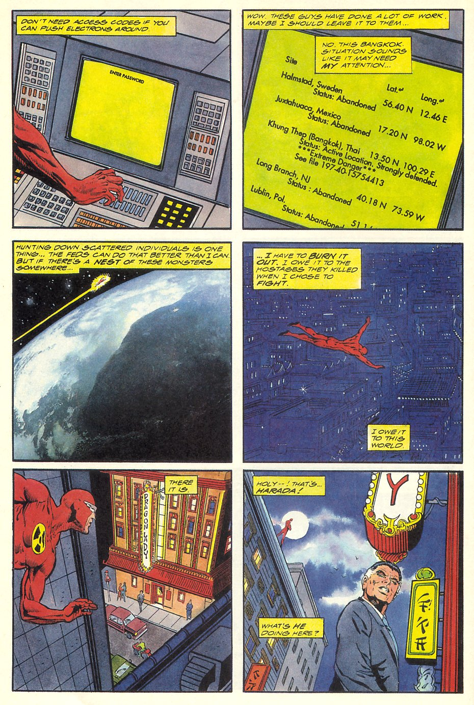 Read online Solar, Man of the Atom comic -  Issue #8 - 16