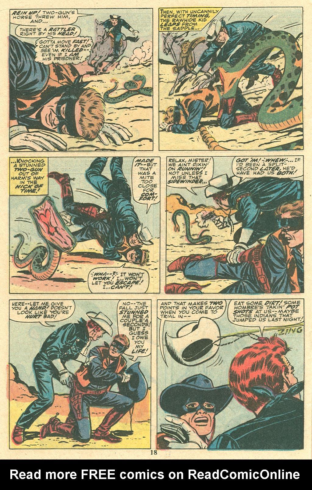 Read online Two-Gun Kid comic -  Issue #117 - 19