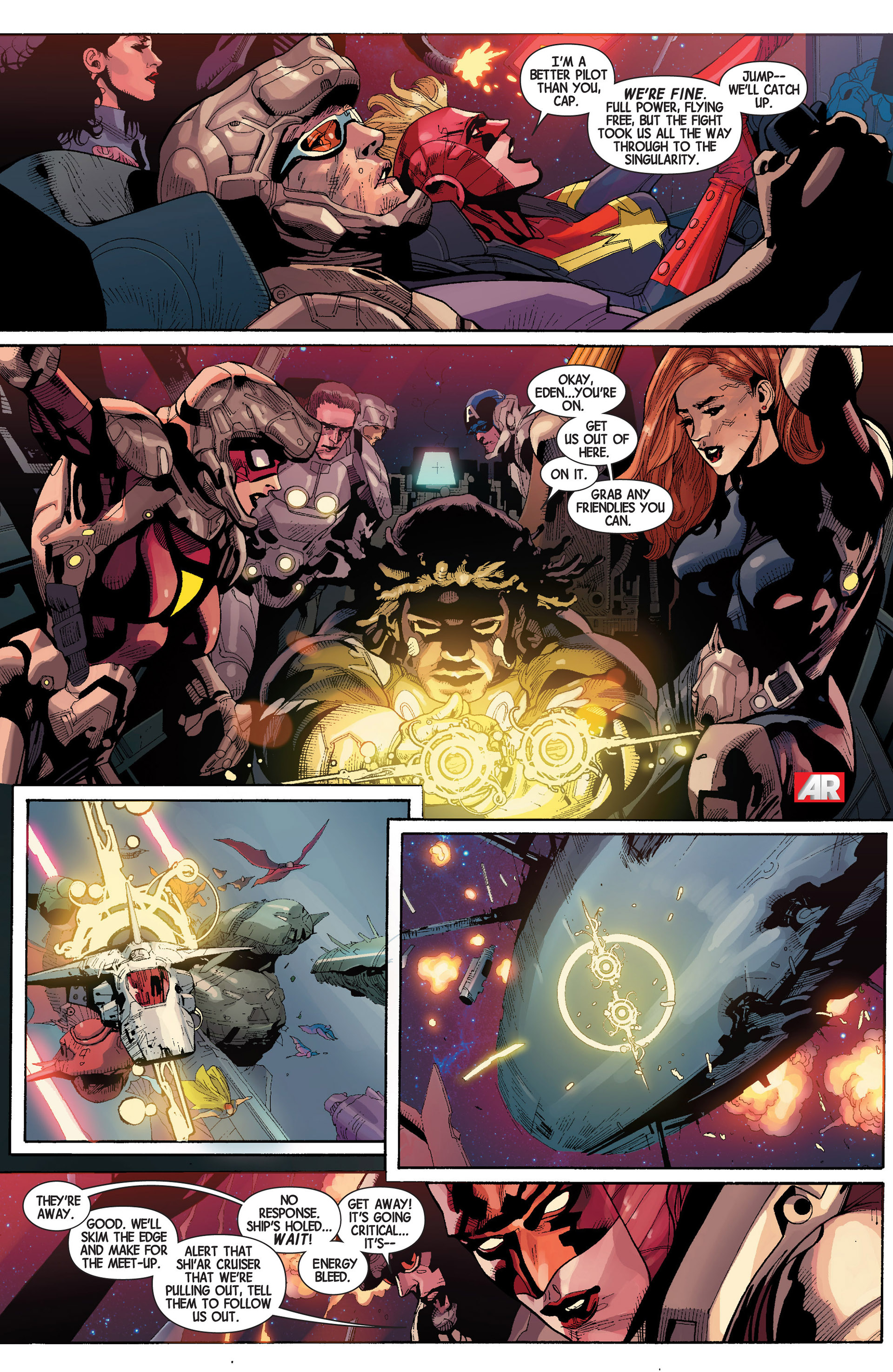 Read online Avengers (2013) comic -  Issue #18 - 25