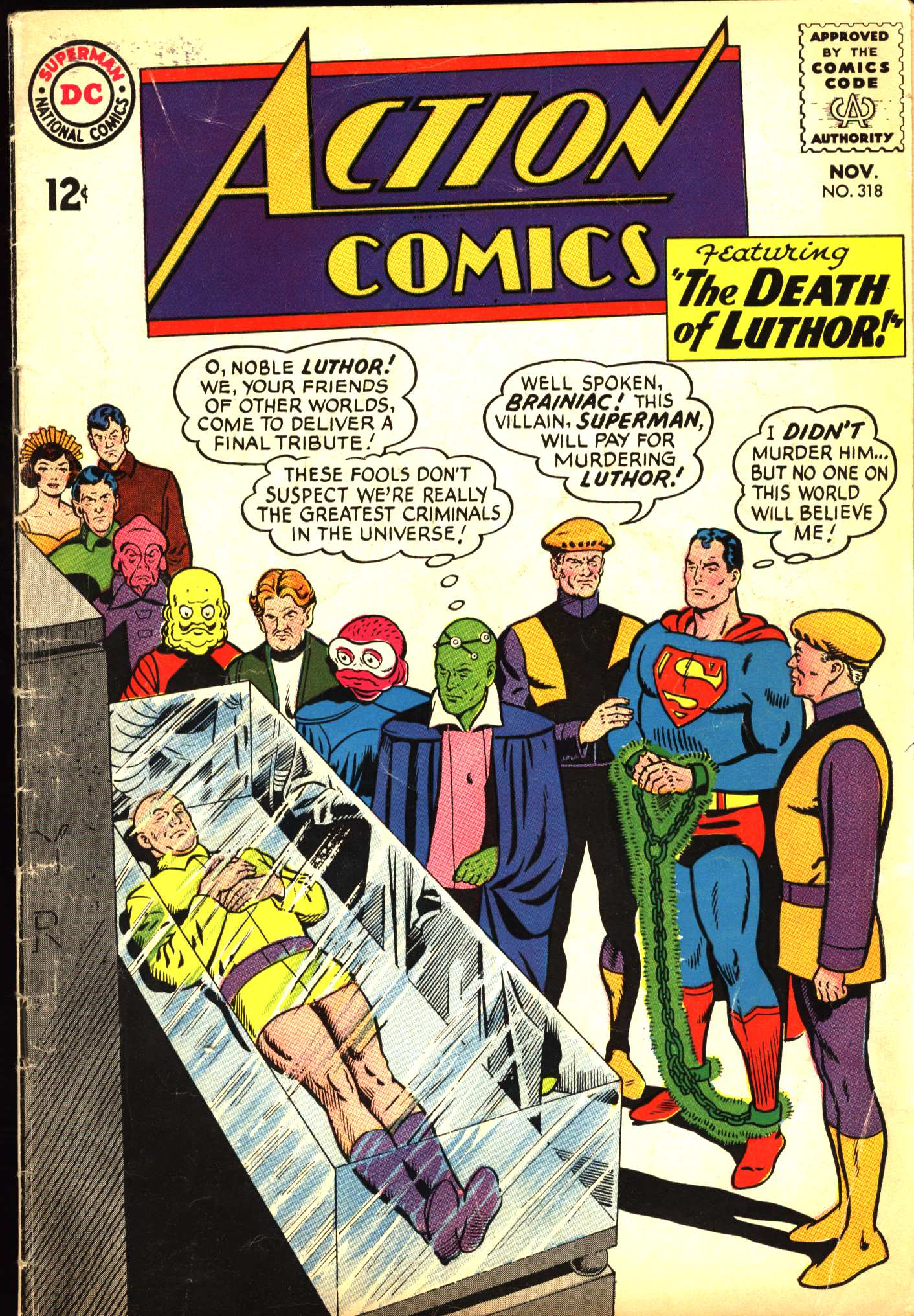 Read online Action Comics (1938) comic -  Issue #318 - 1