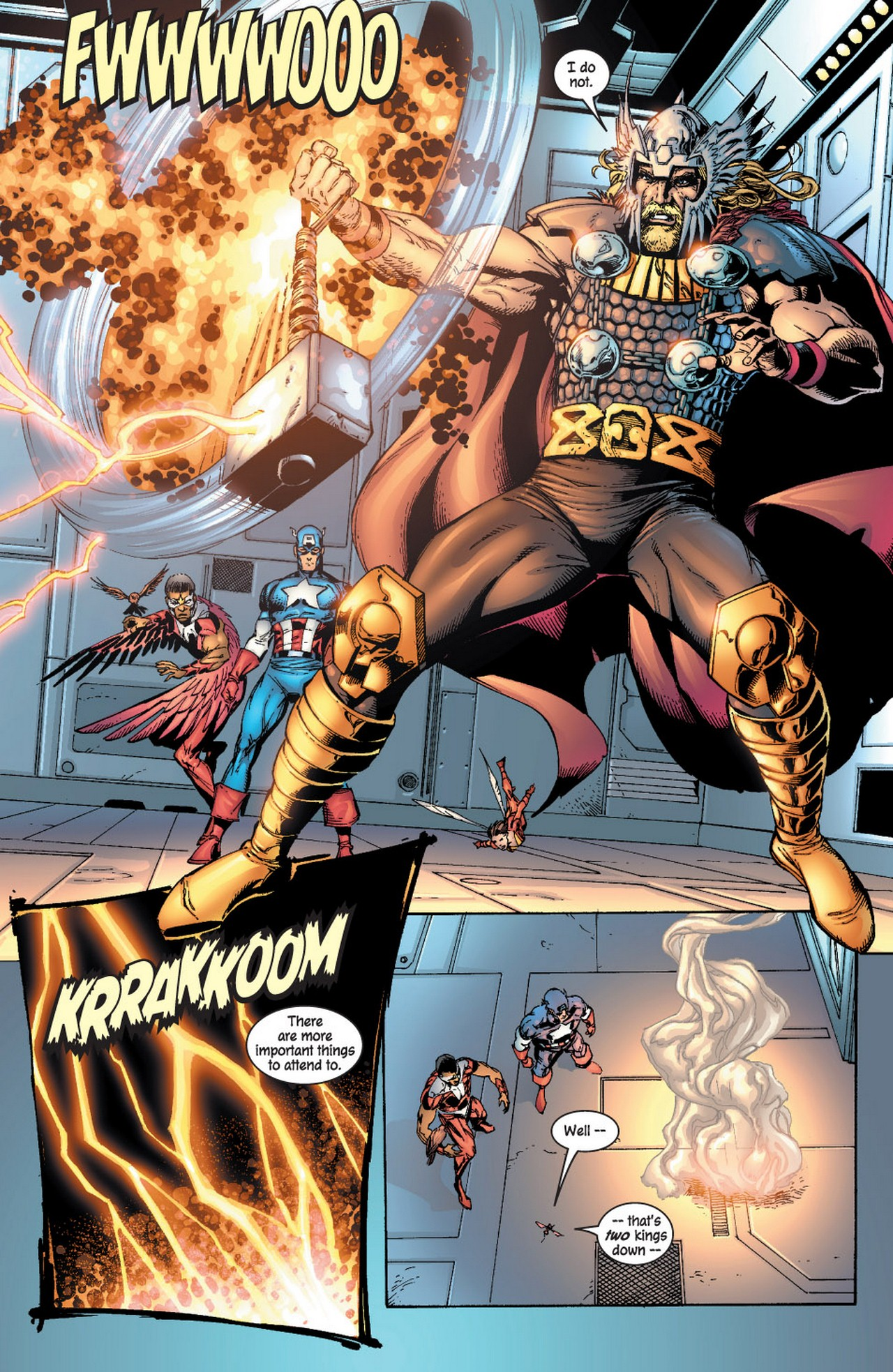 Read online Avengers (1998) comic -  Issue #61 - 12