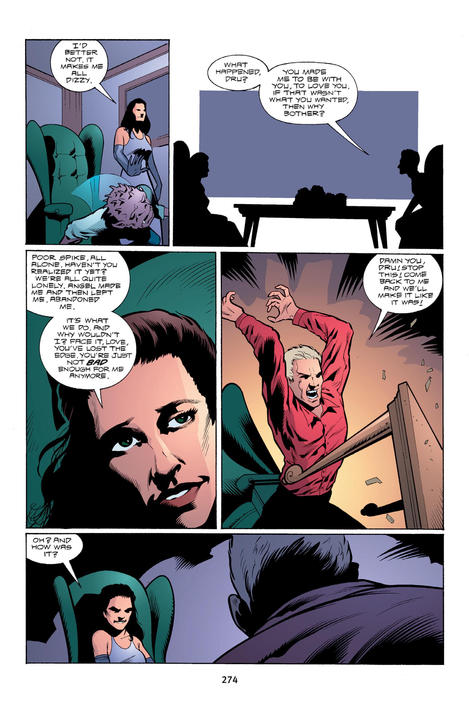 Read online Buffy the Vampire Slayer: Omnibus comic -  Issue # TPB 4 - 272