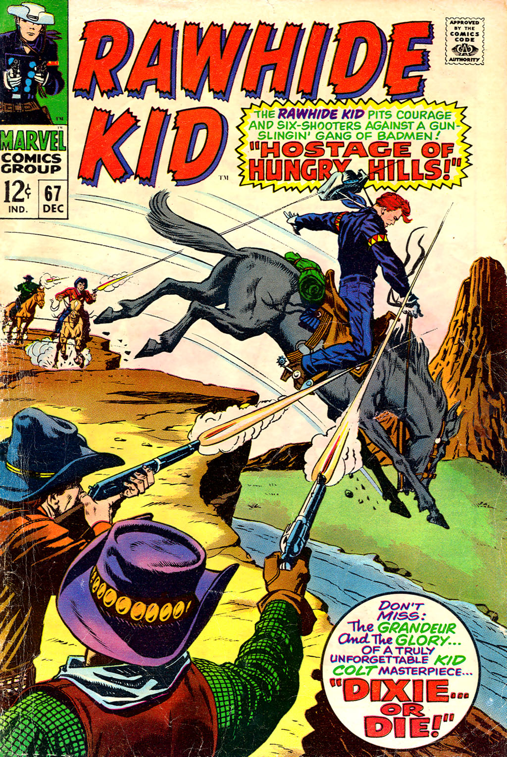 The Rawhide Kid (1955) issue 67 - Page 1