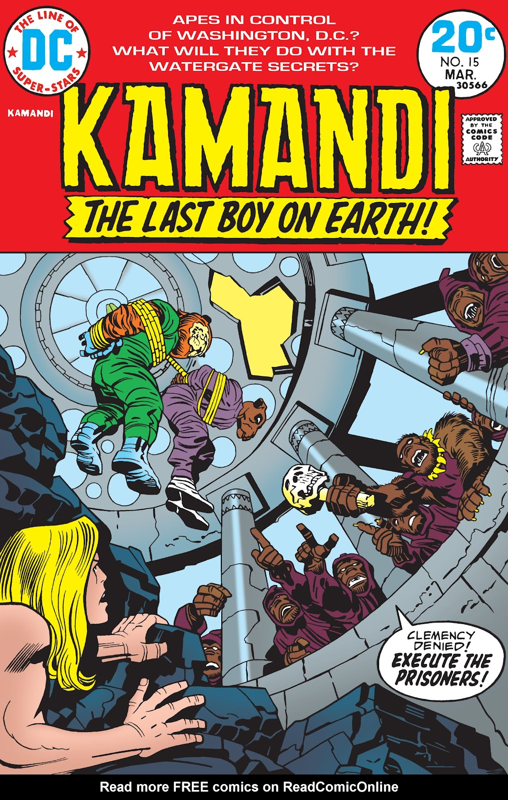 Kamandi, The Last Boy On Earth issue 15 - Page 1