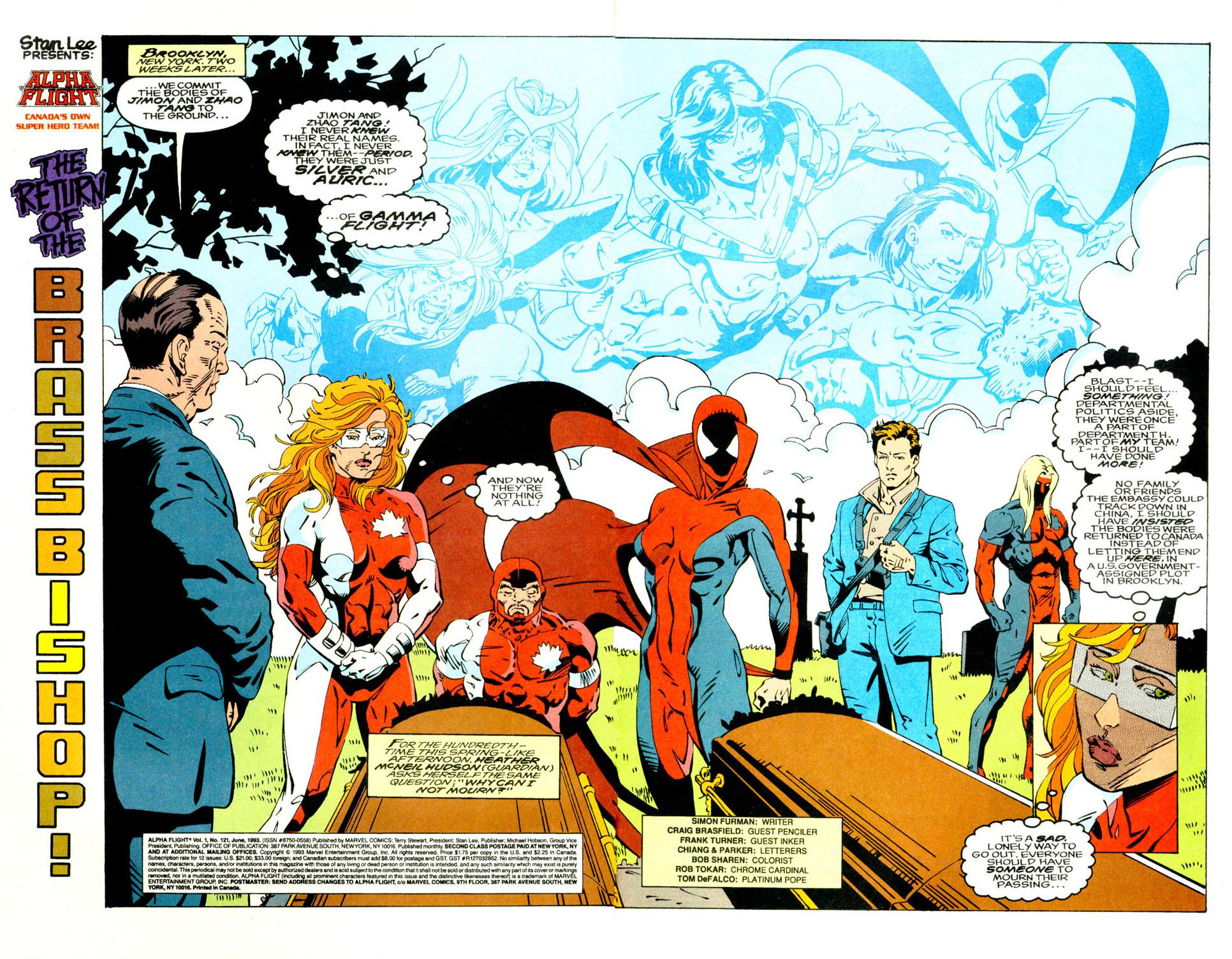 Read online Alpha Flight (1983) comic -  Issue #121 - 4