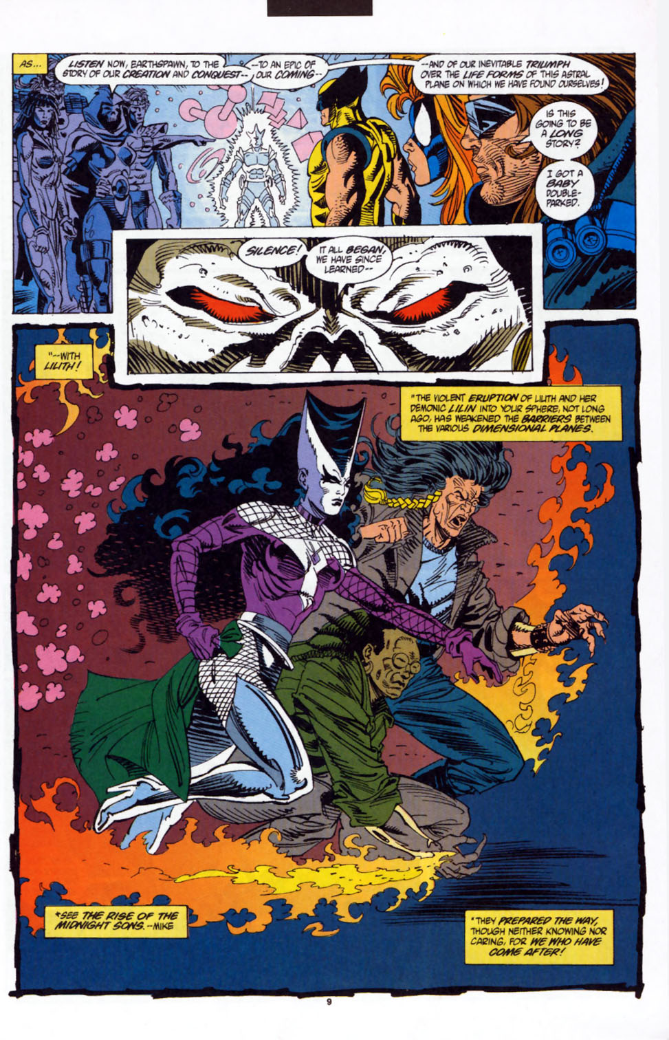 Read online Secret Defenders comic -  Issue #3 - 8