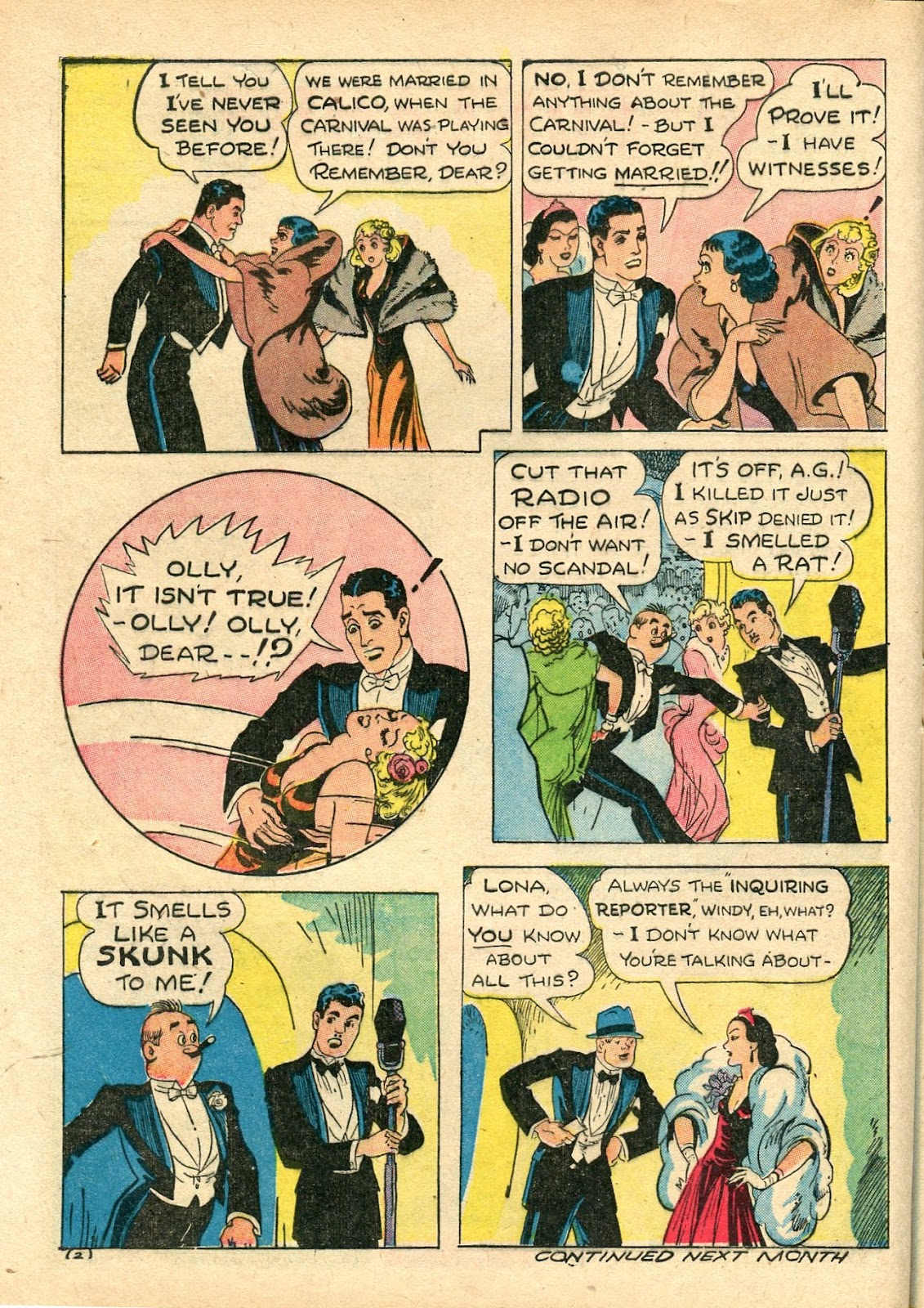 Read online Famous Funnies comic -  Issue #112 - 48