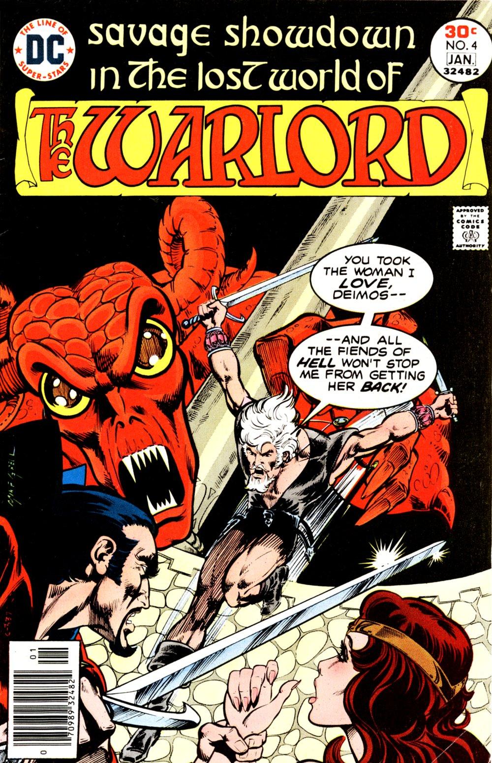 Warlord (1976) 4 Page 1