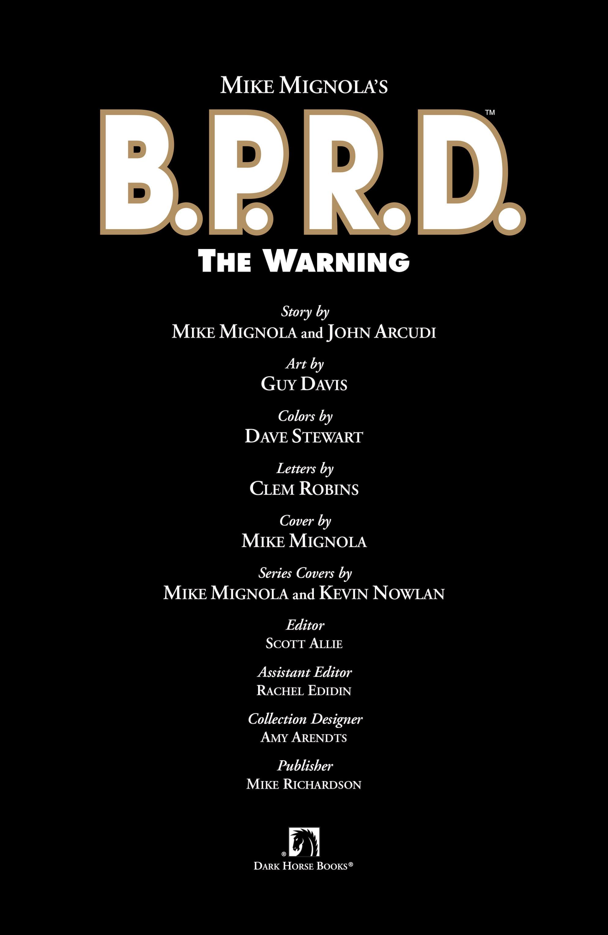 Read online B.P.R.D. (2003) comic -  Issue # TPB 10 - 4