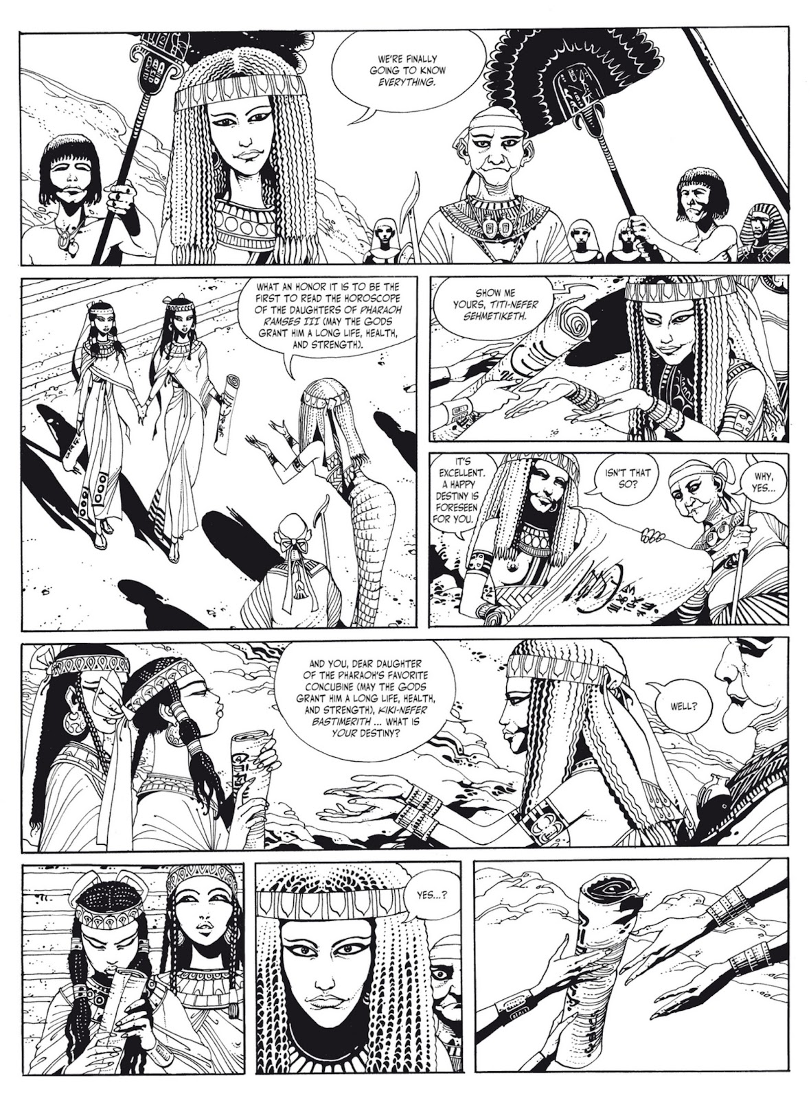 Read online The Egyptian Princesses comic -  Issue # TPB 1 (Part 1) - 7
