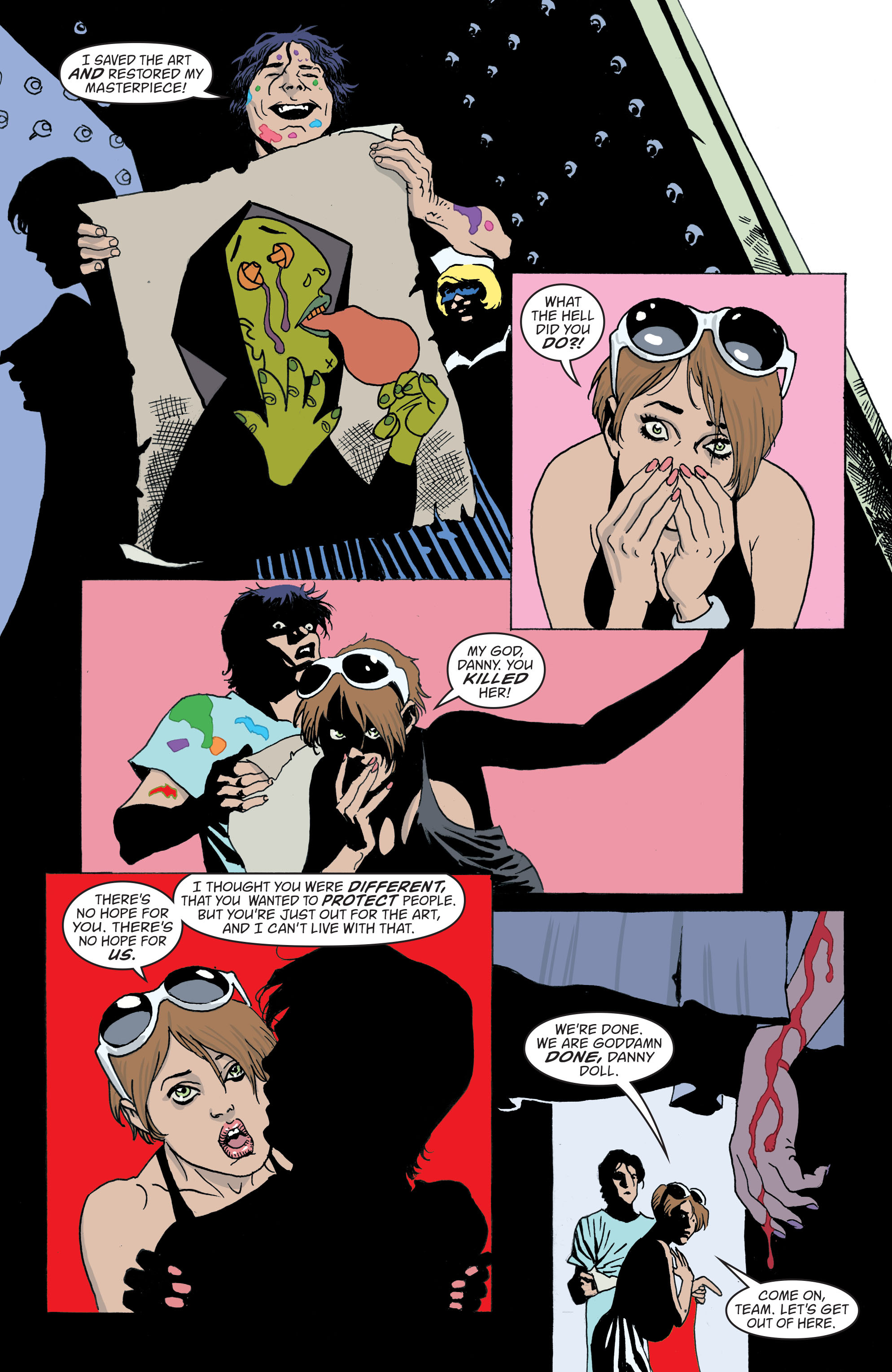 Read online Art Ops comic -  Issue #7 - 19
