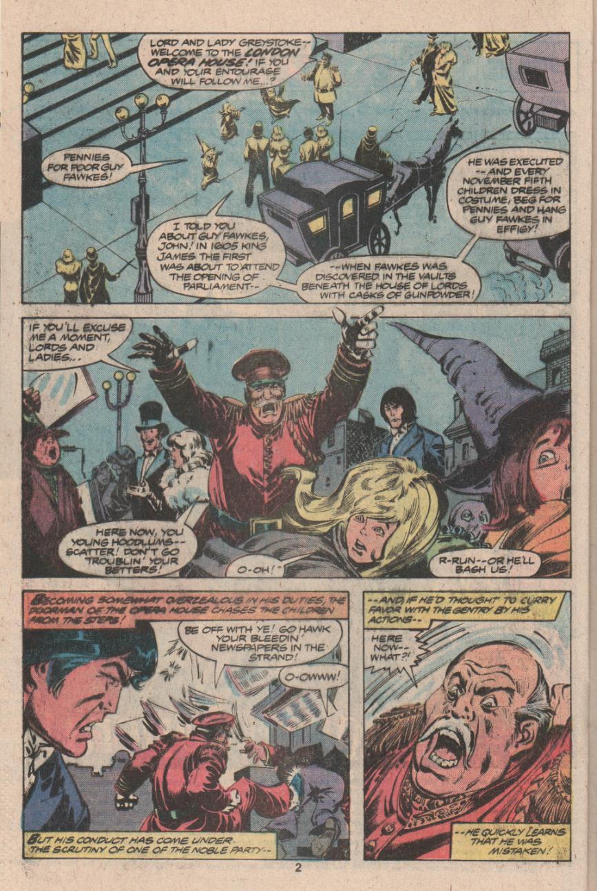 Read online Tarzan (1977) comic -  Issue # _Annual 3 - 3