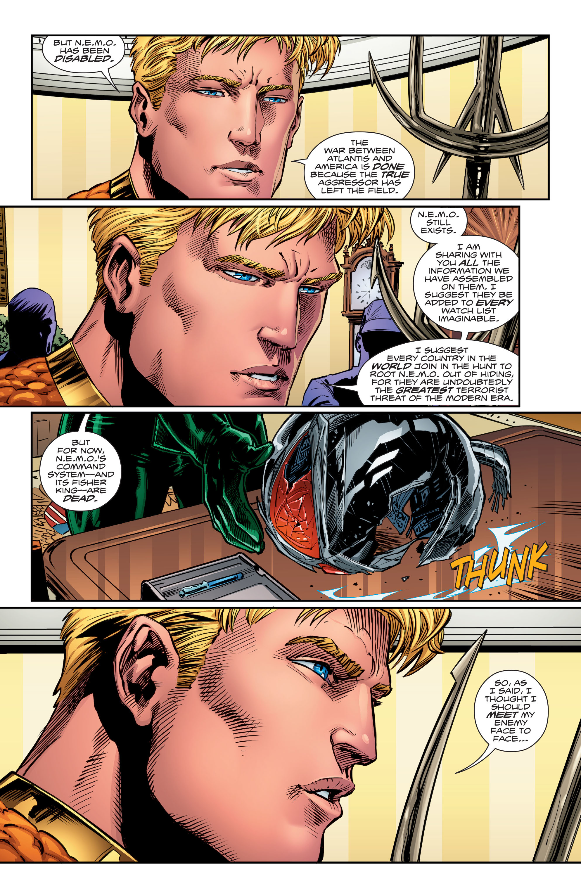 Read online Aquaman (2016) comic -  Issue #15 - 13