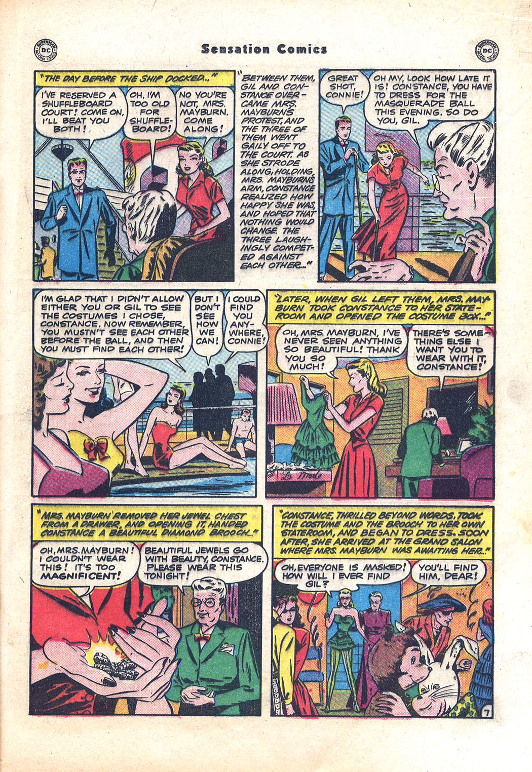 Read online Sensation (Mystery) Comics comic -  Issue #94 - 29