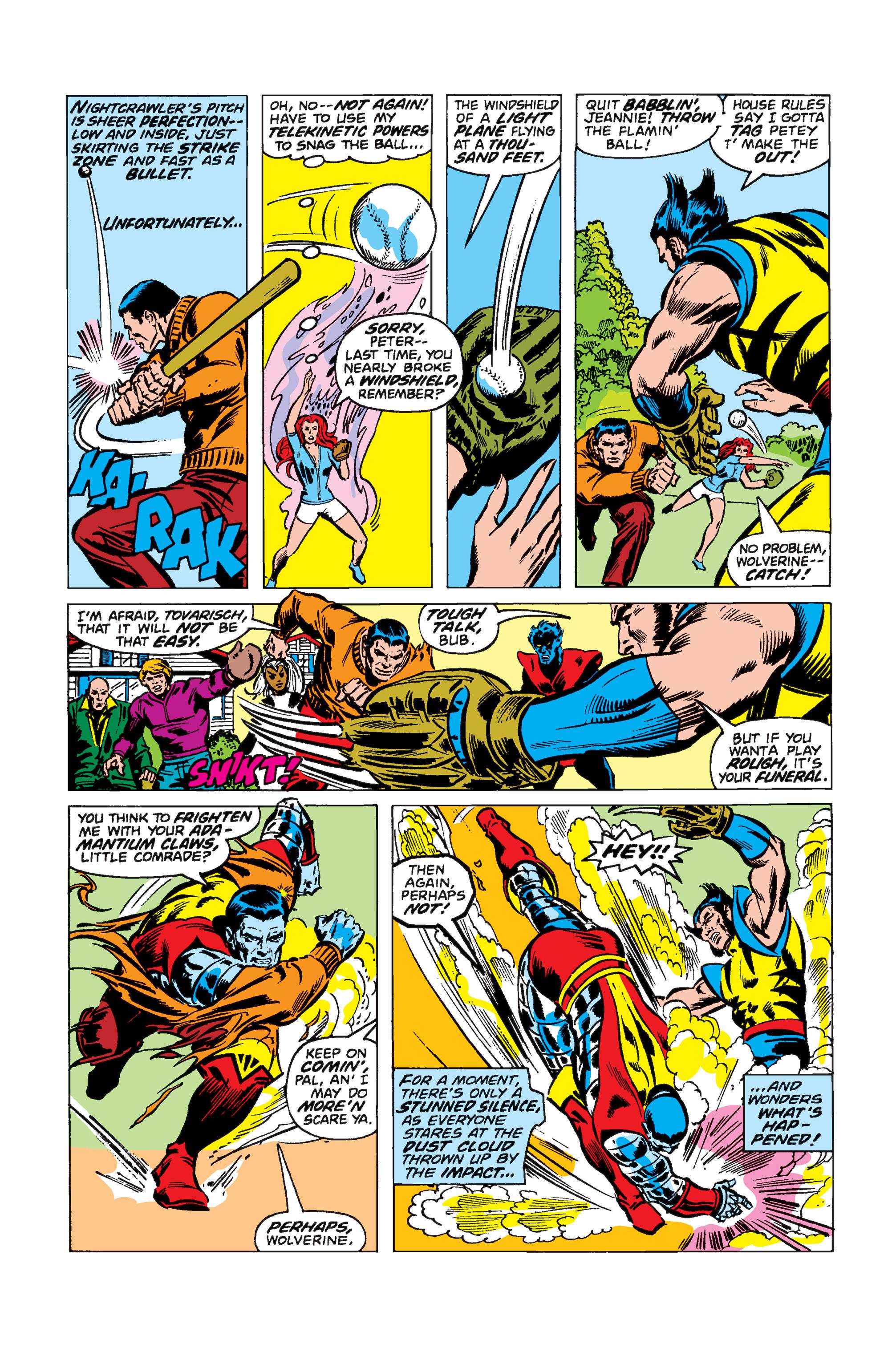 Read online Uncanny X-Men (1963) comic -  Issue #110 - 3