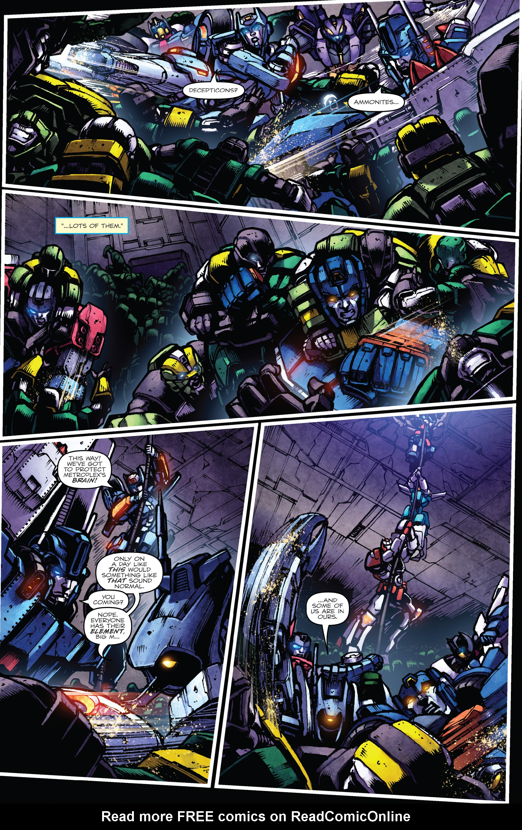 Read online The Transformers: Dark Cybertron Finale comic -  Issue # Full - 36