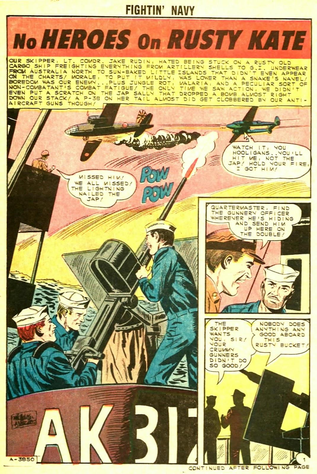 Read online Fightin' Navy comic -  Issue #117 - 14