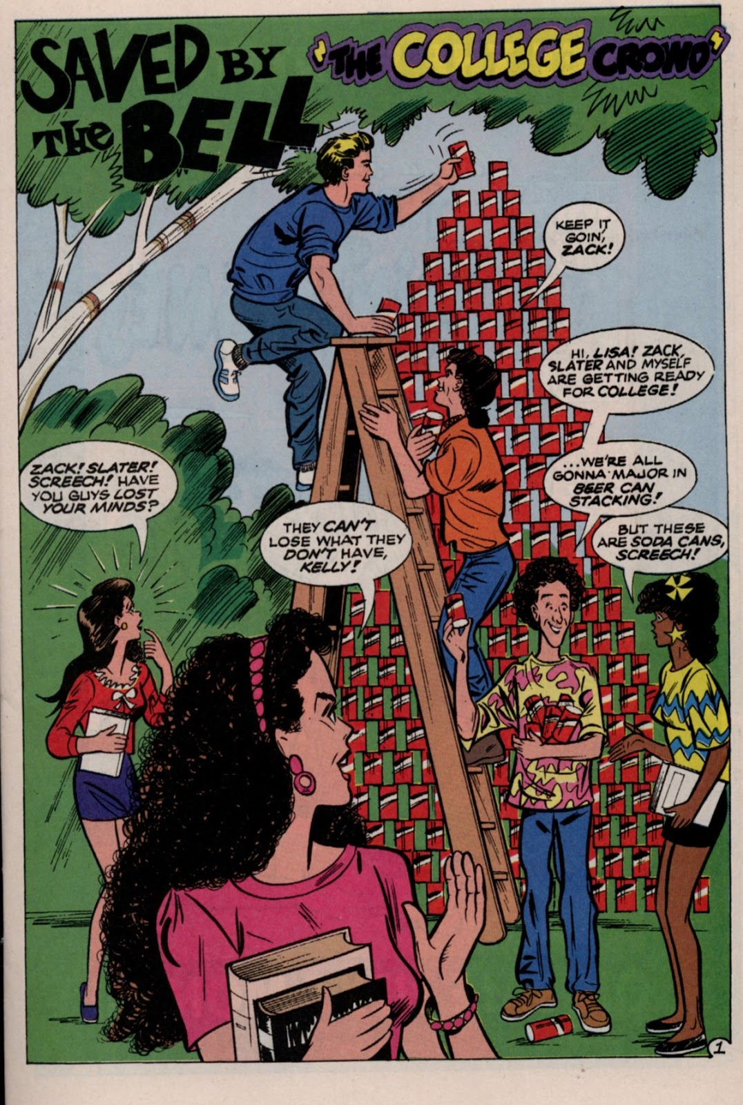 Read online Saved By The Bell comic -  Issue #2 - 3